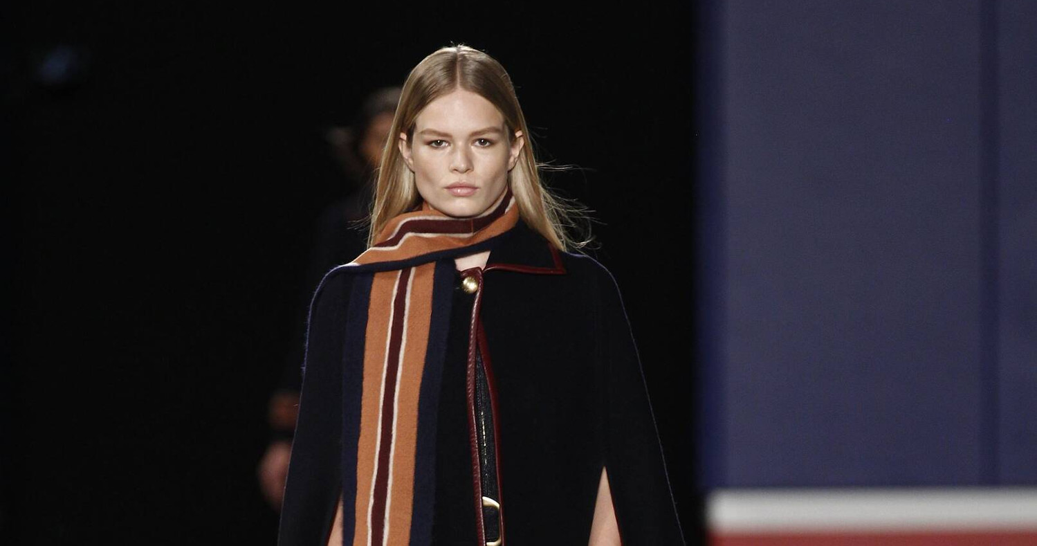 f289001c TOMMY HILFIGER FALL WINTER 2015-16 WOMEN'S COLLECTION – NEW YORK FASHION  WEEK · Fall Fashion Woman Tommy Hilfiger Collection 2015