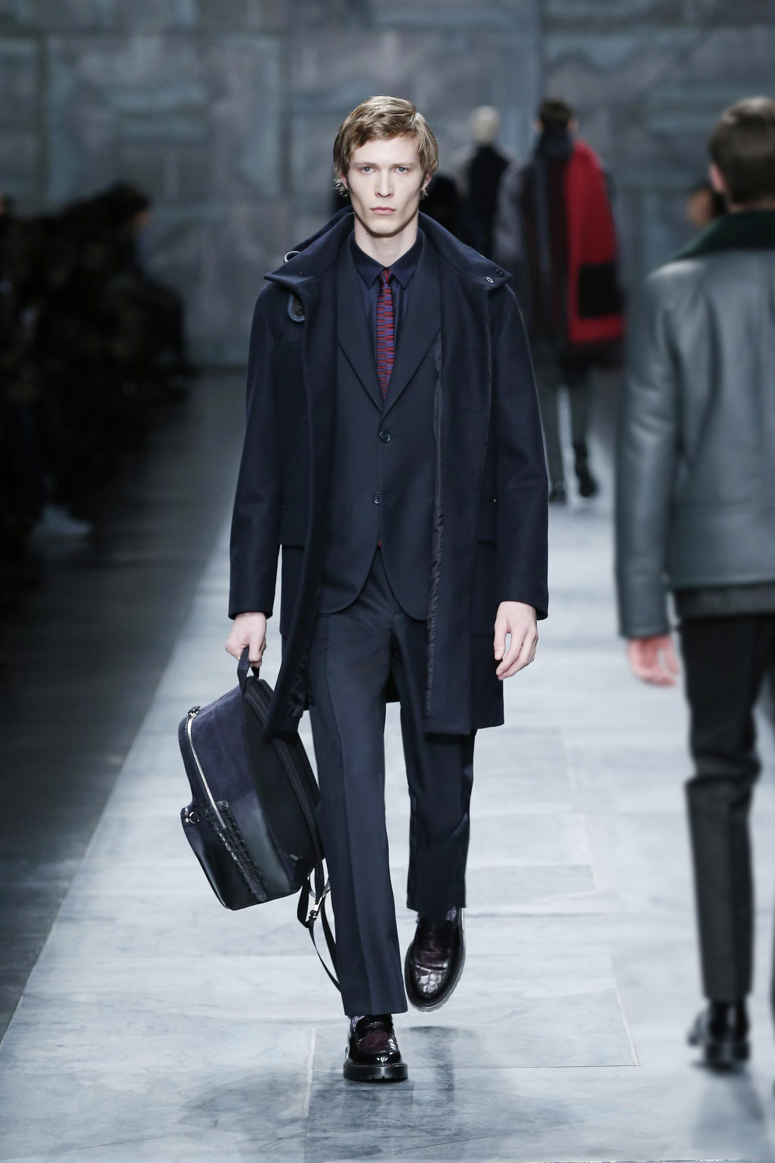 Fall Fendi Collection Fashion Man