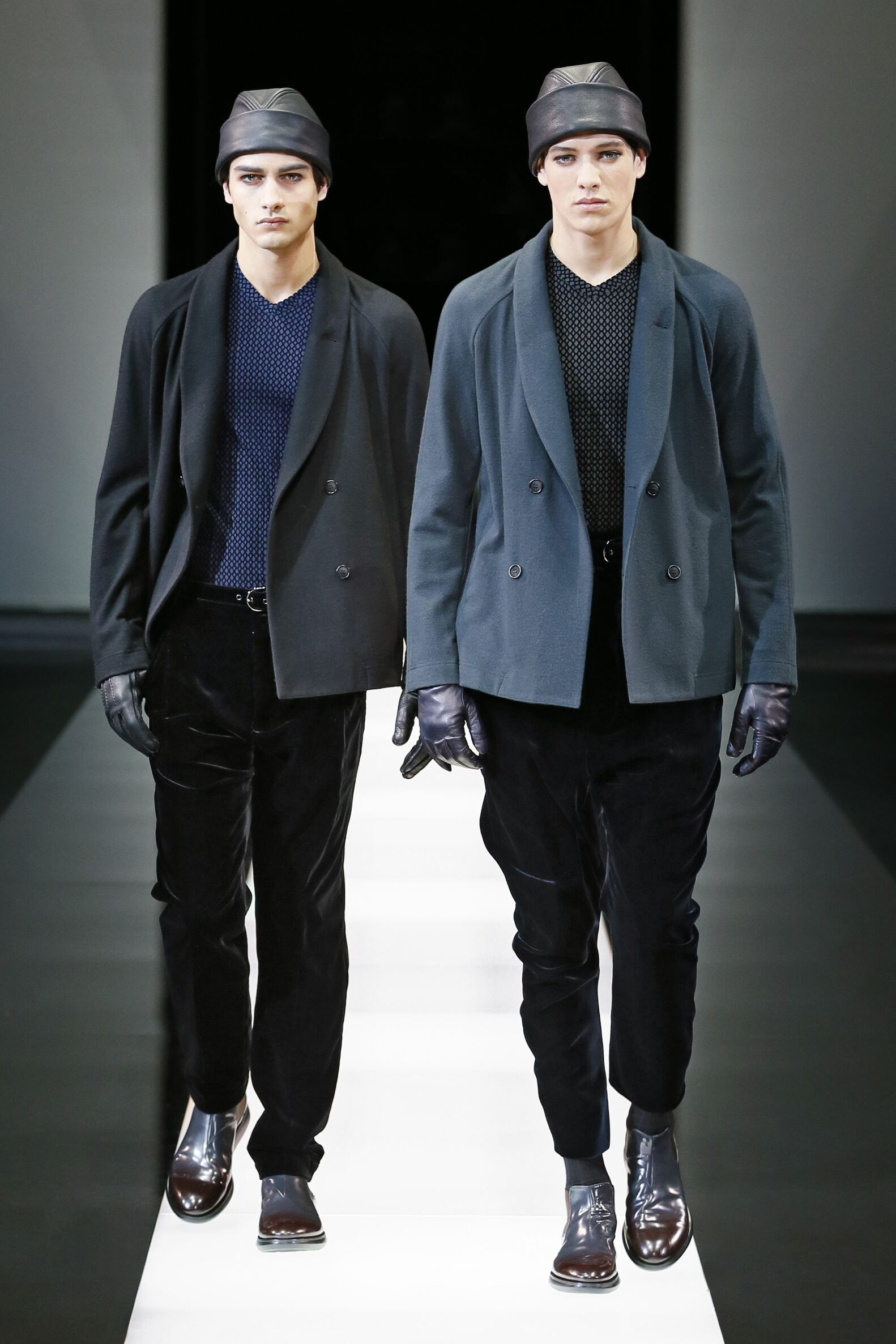 Fall Giorgio Armani Collection Fashion Men Models