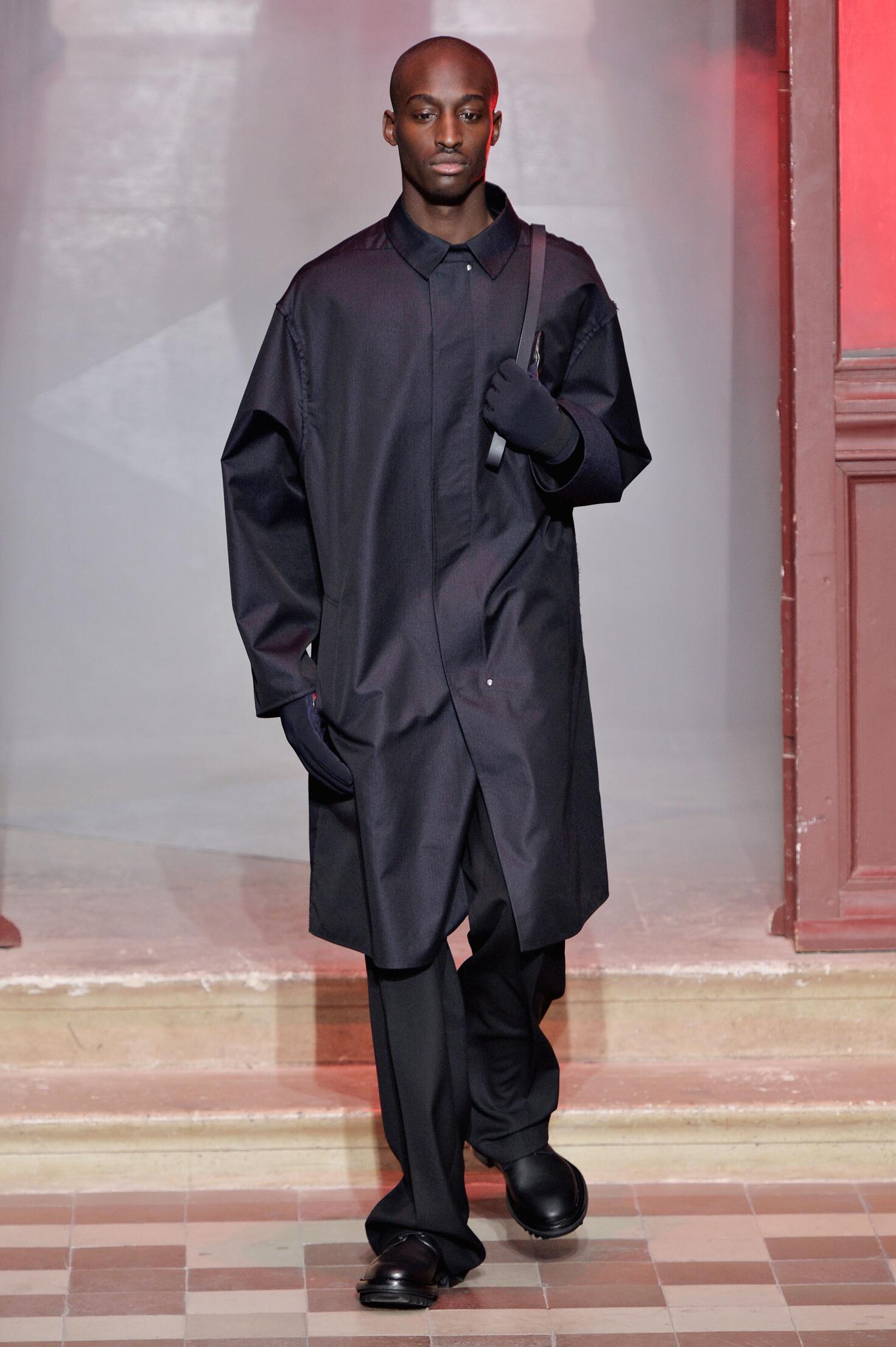 Fall Lanvin Collection Fashion Men Model