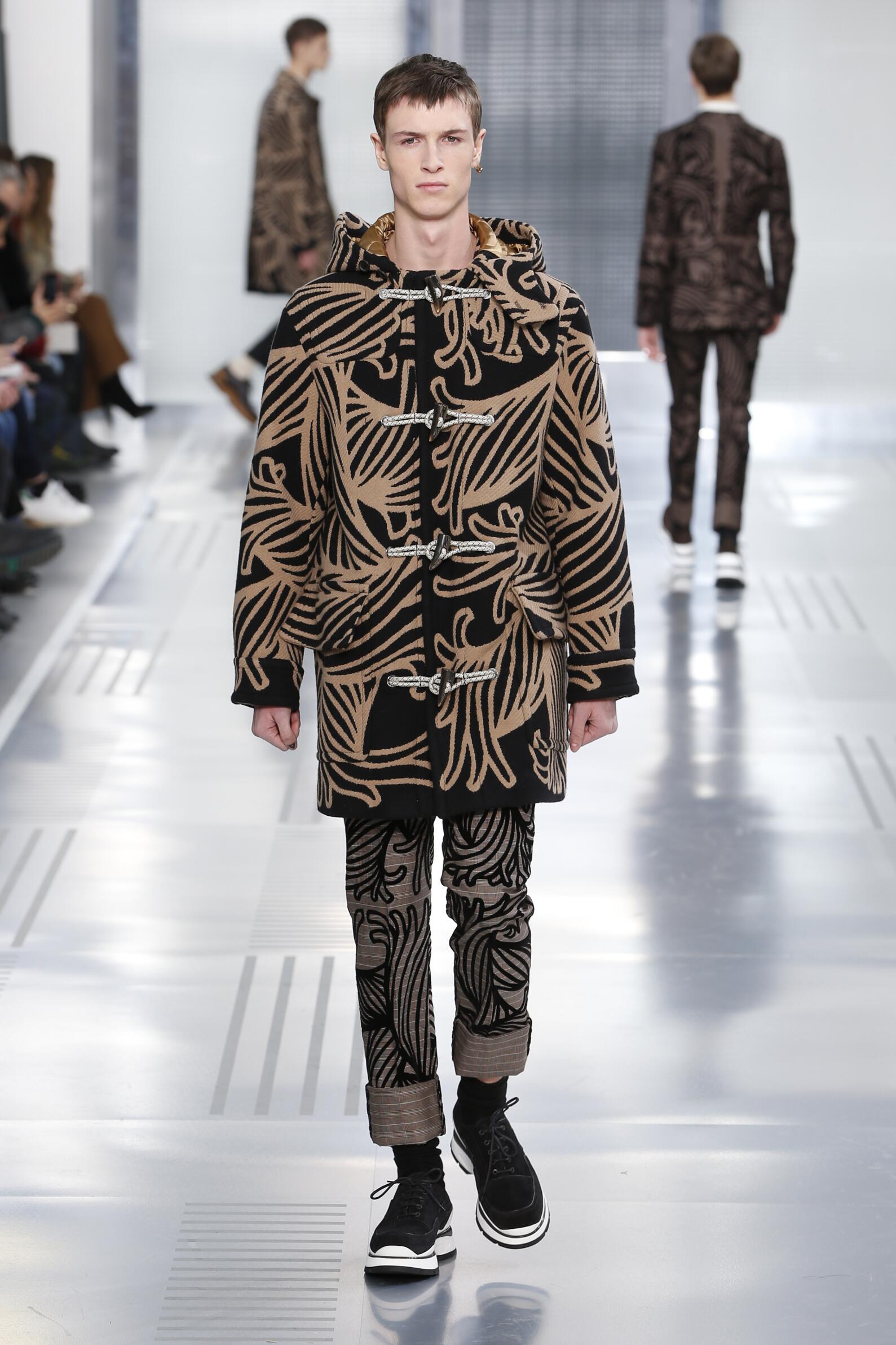 Fall Louis Vuitton Collection Fashion Man Model