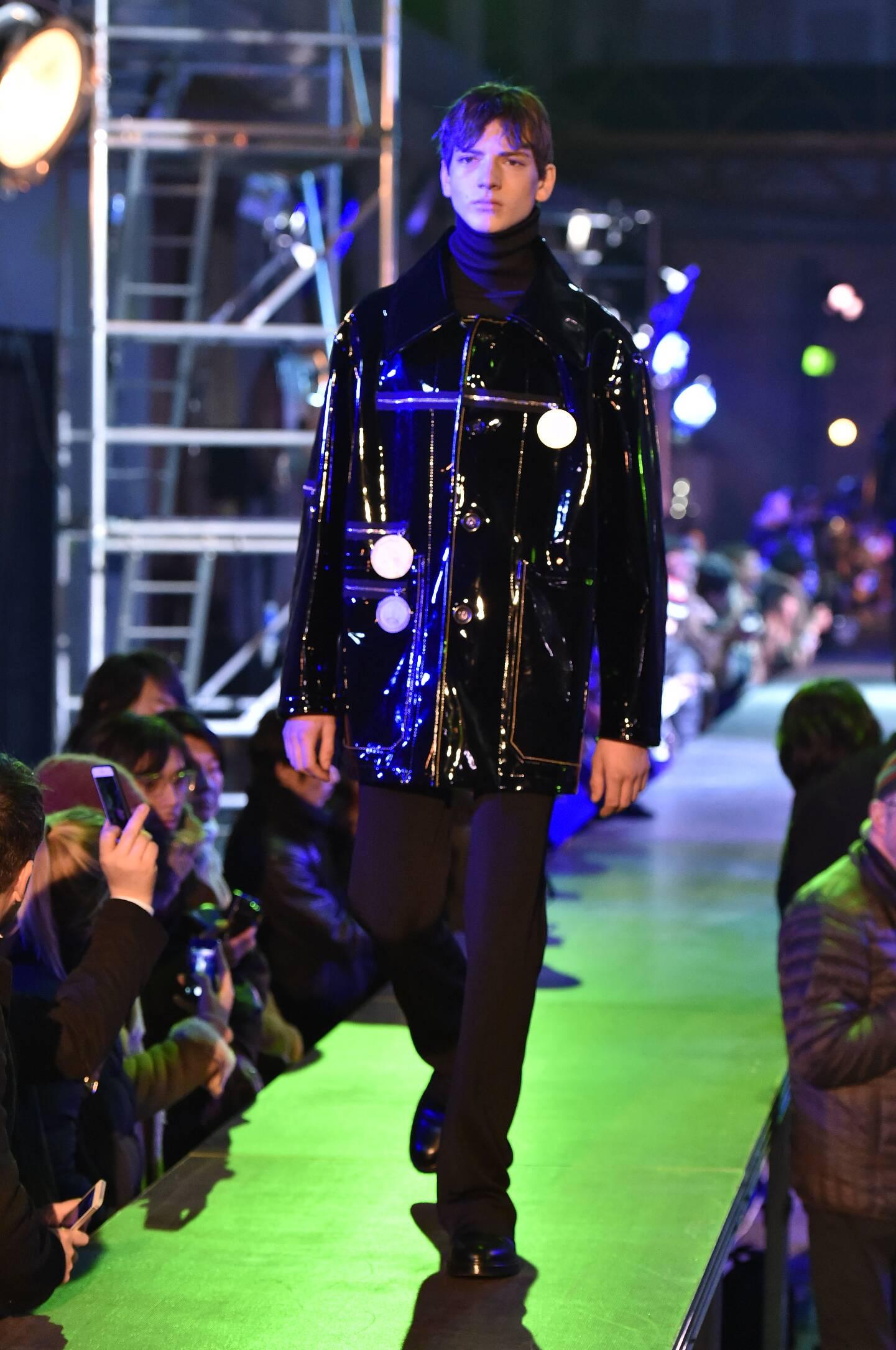 Fall Raf Simons Collection Fashion Men Models