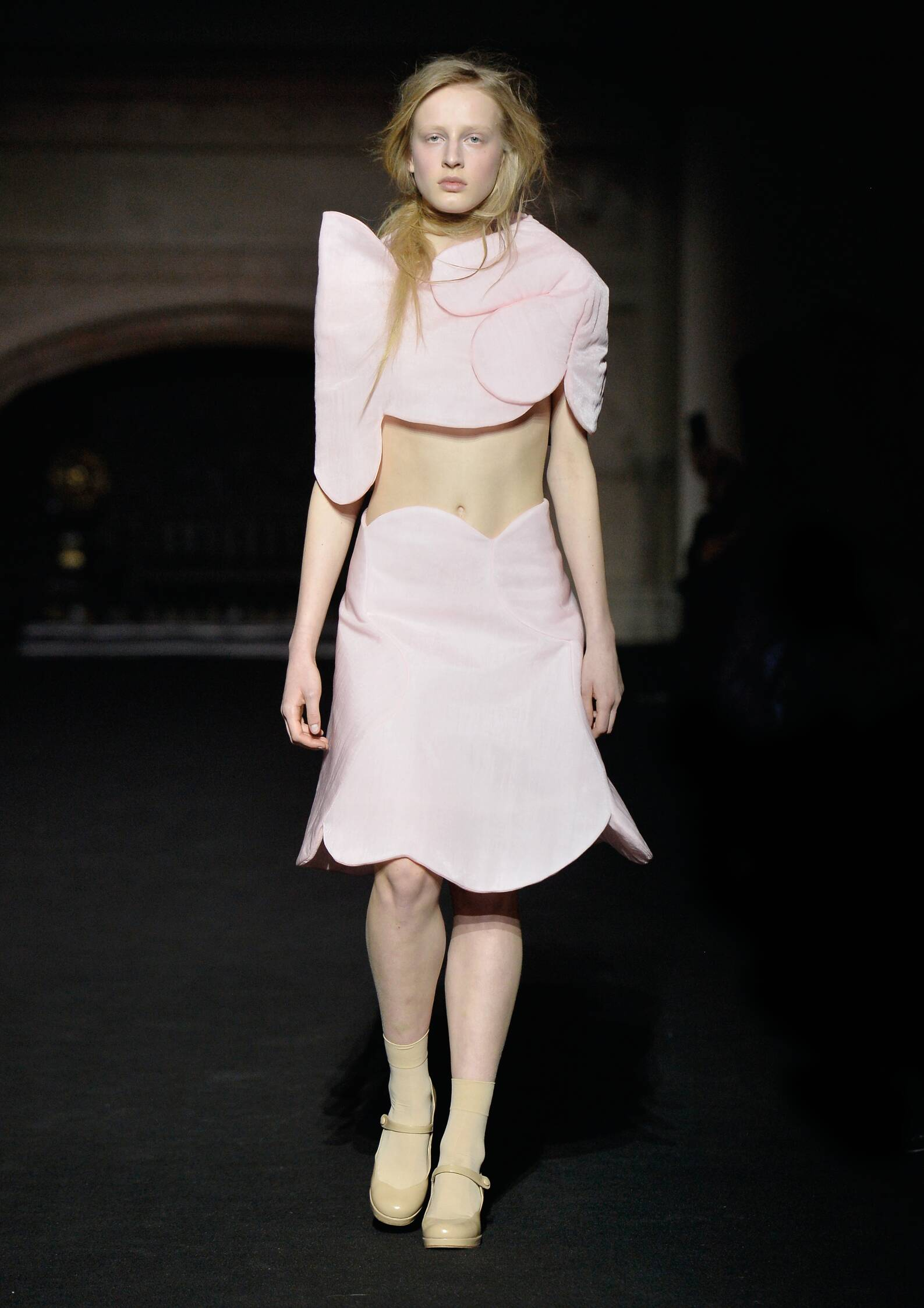 Fall Simone Rocha Collection Fashion Woman Model