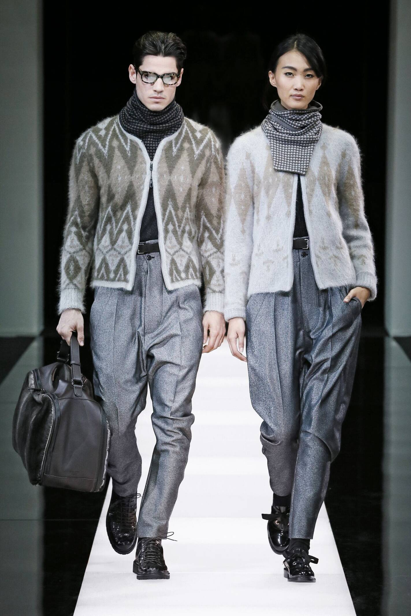 Fall Winter 2015 16 Fashion Collection Giorgio Armani