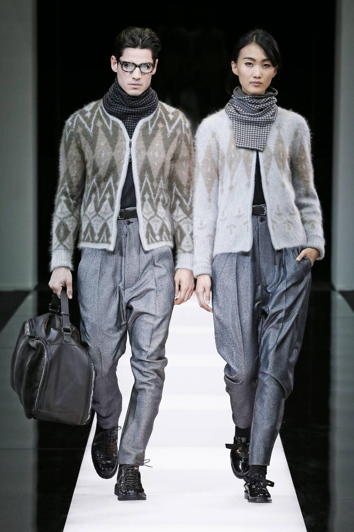 e5ddfc0833d Fall Winter 2015 16 Fashion Collection Giorgio Armani