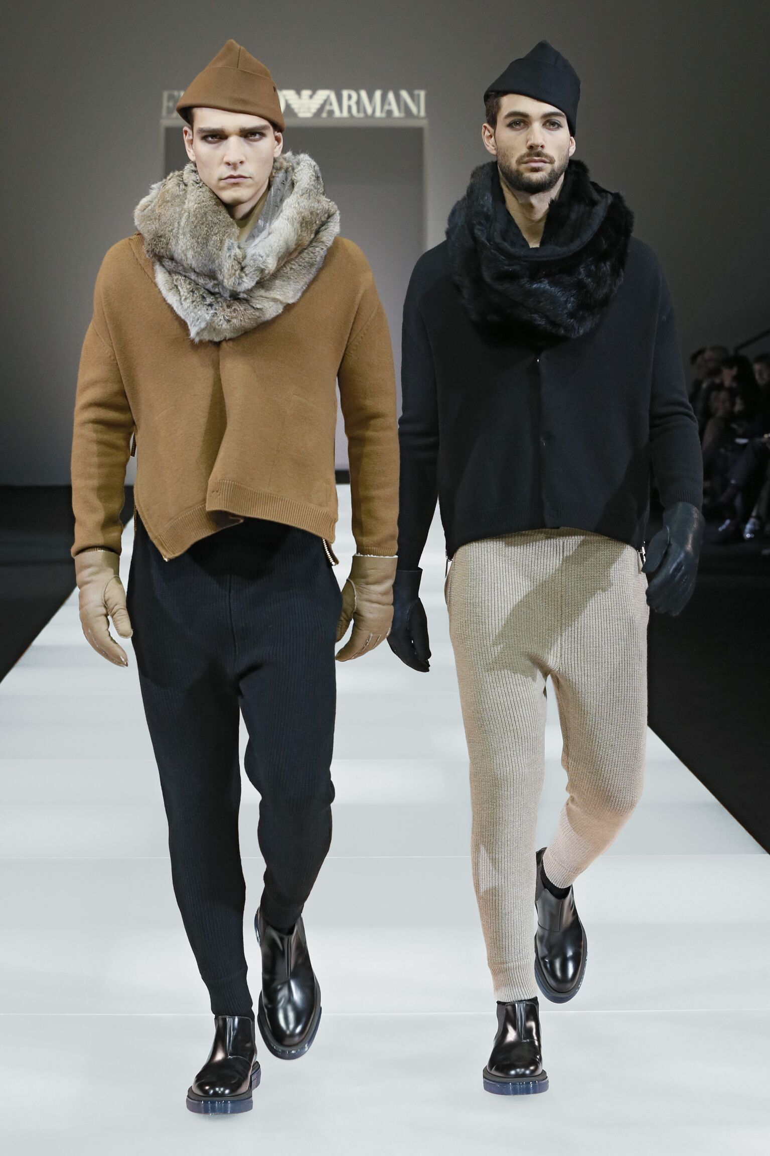Fall Winter 2015 16 Fashion Men's Collection Emporio Armani