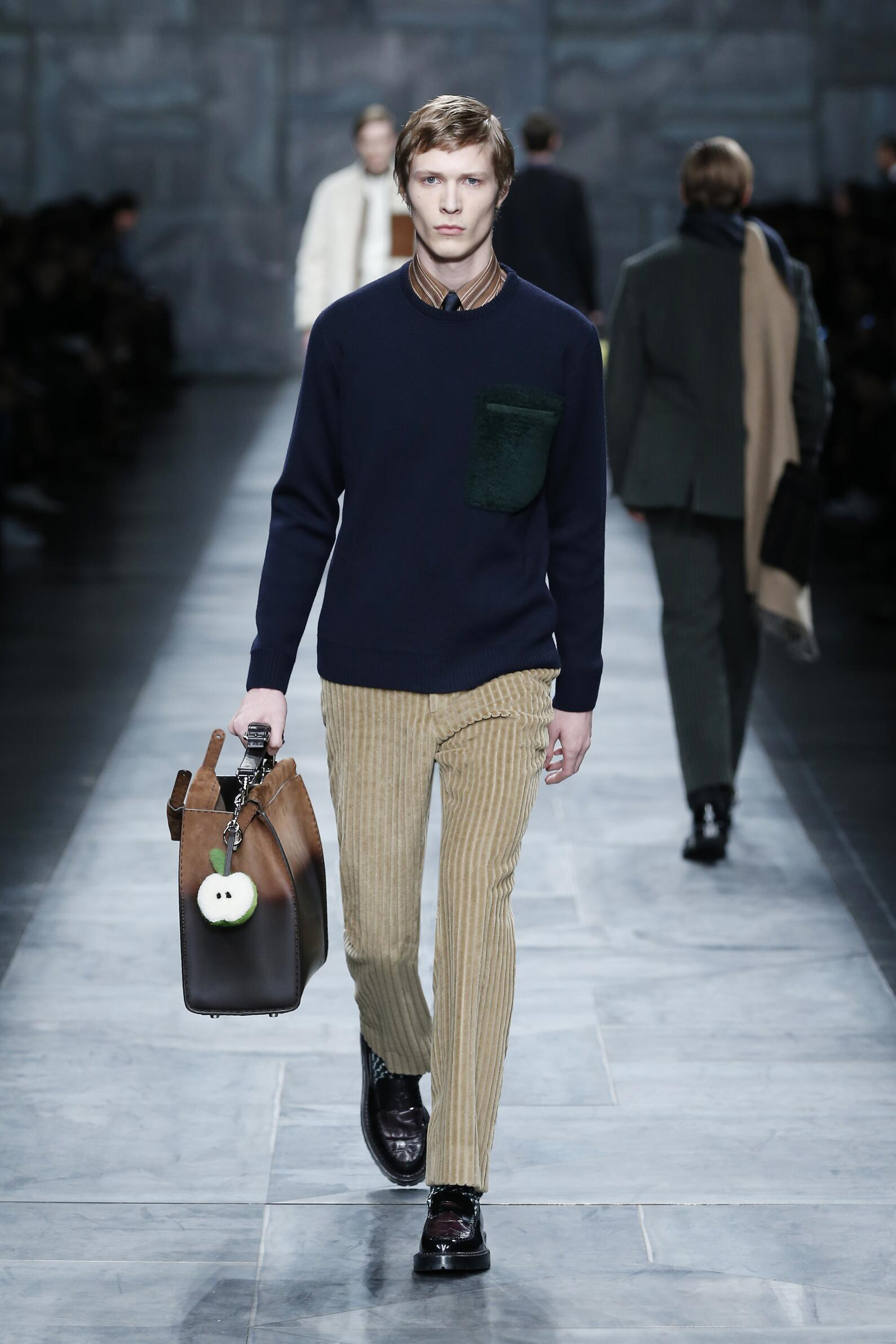 FENDI FALL WINTER 2015-16 MEN'S COLLECTION