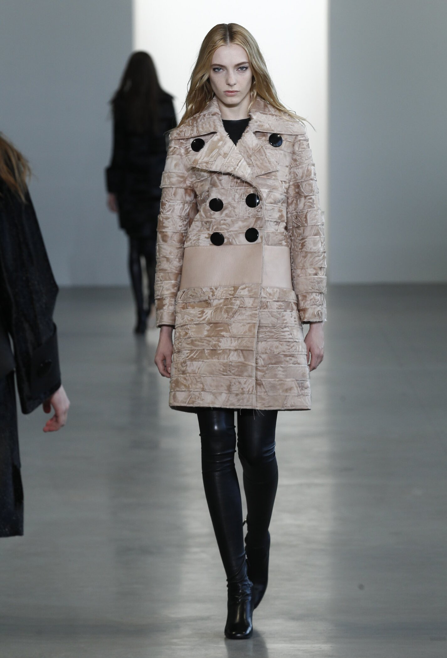 calvin klein collection women's fall 2015  the skinny beep