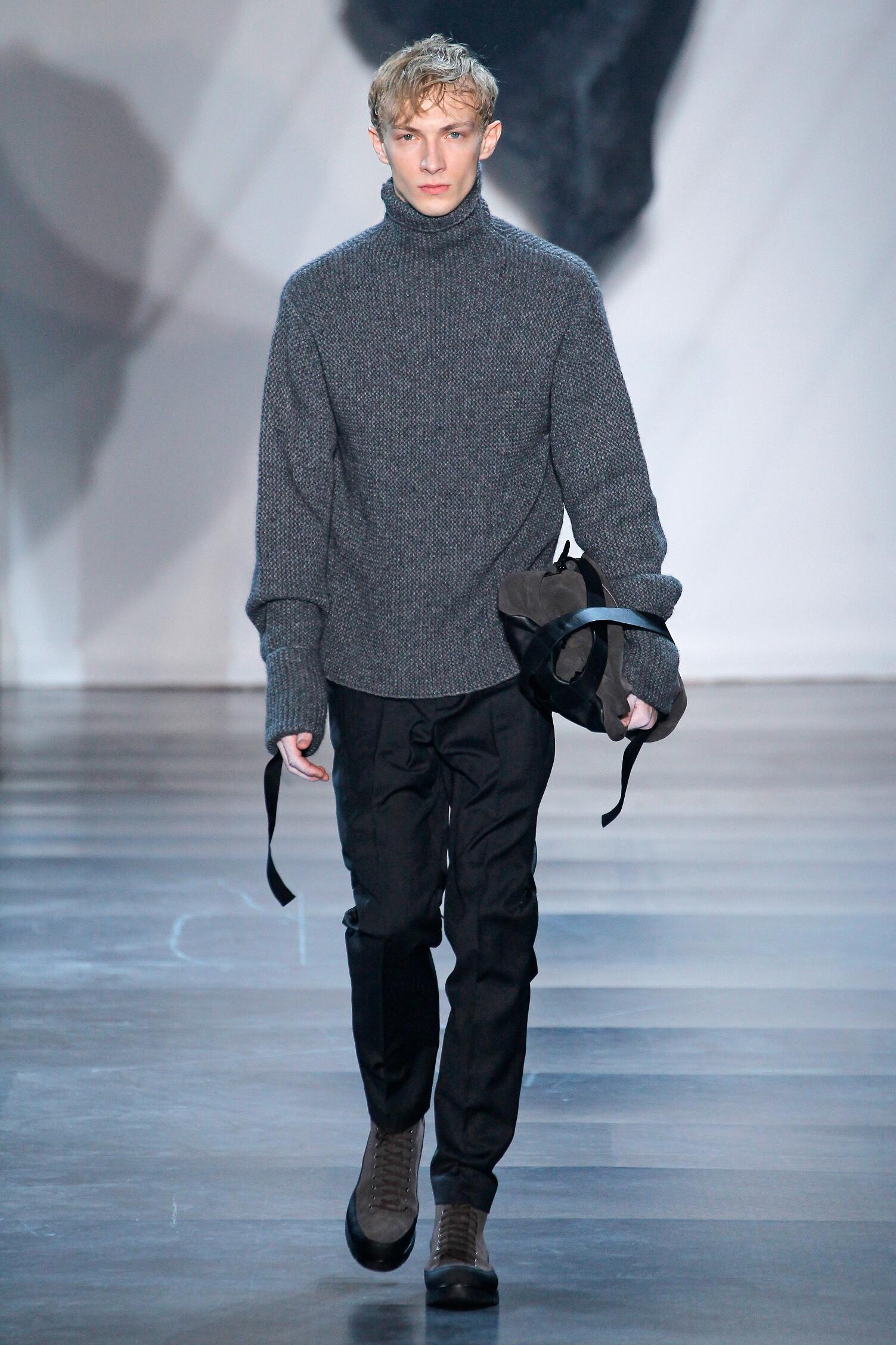 Fashion Man Model 3.1 Phillip Lim Collection Catwalk