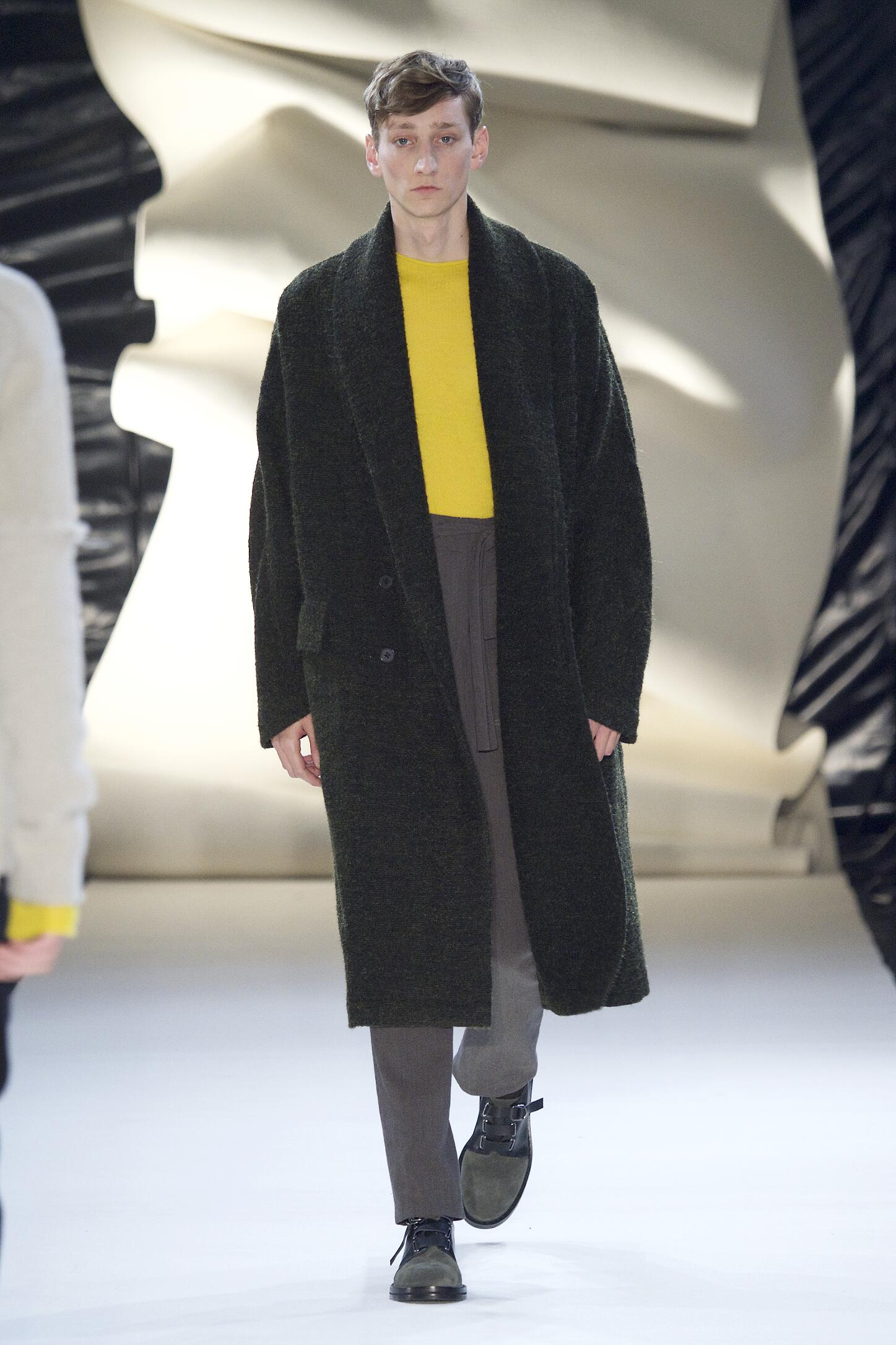 Fashion Model Damir Doma Collection Catwalk