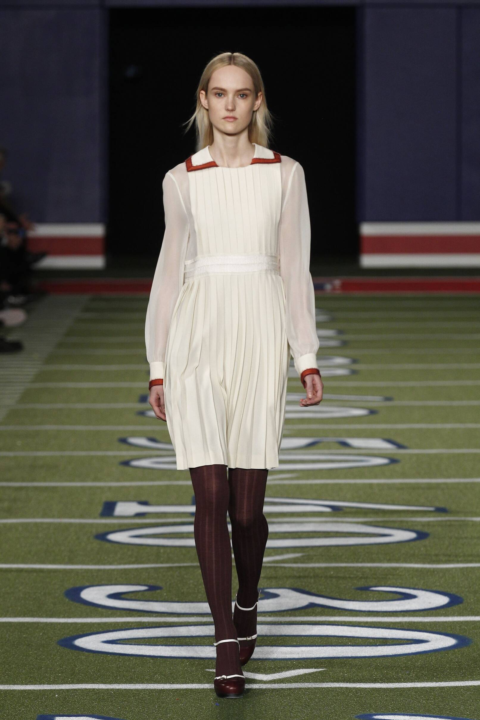 Fashion Model Tommy Hilfiger Collection Catwalk