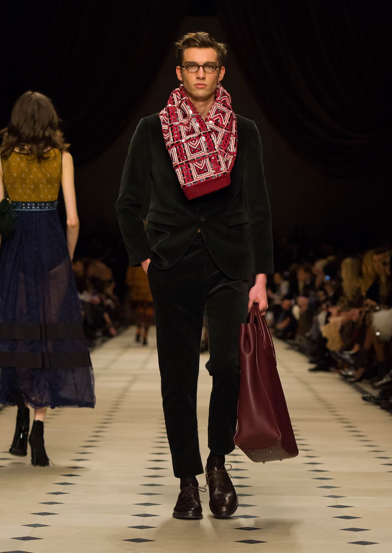 Fashion Show FW 2015 2016 Burberry Prorsum Menswear