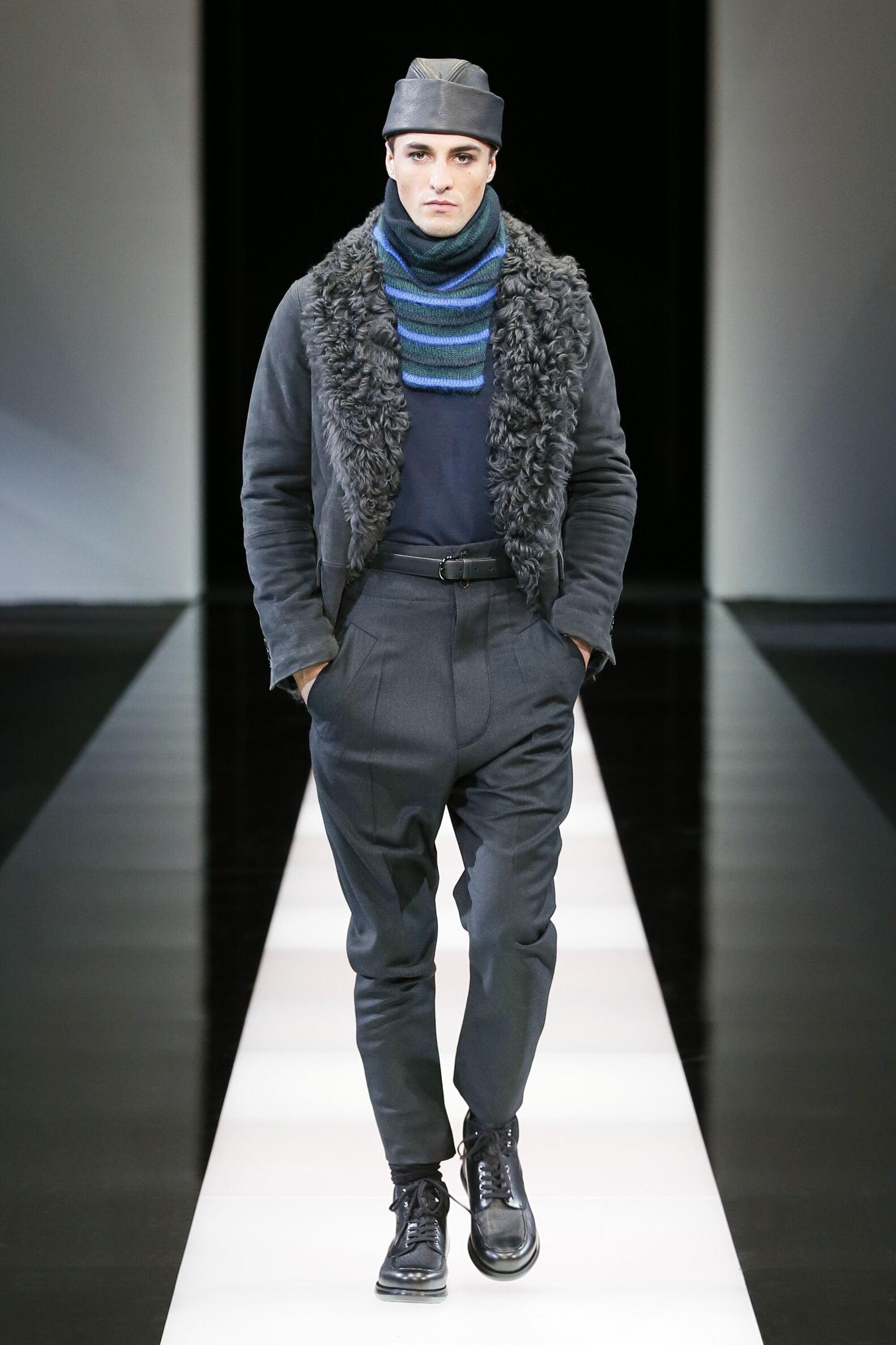 Fashion Winter Trends 2015 2016 Giorgio Armani