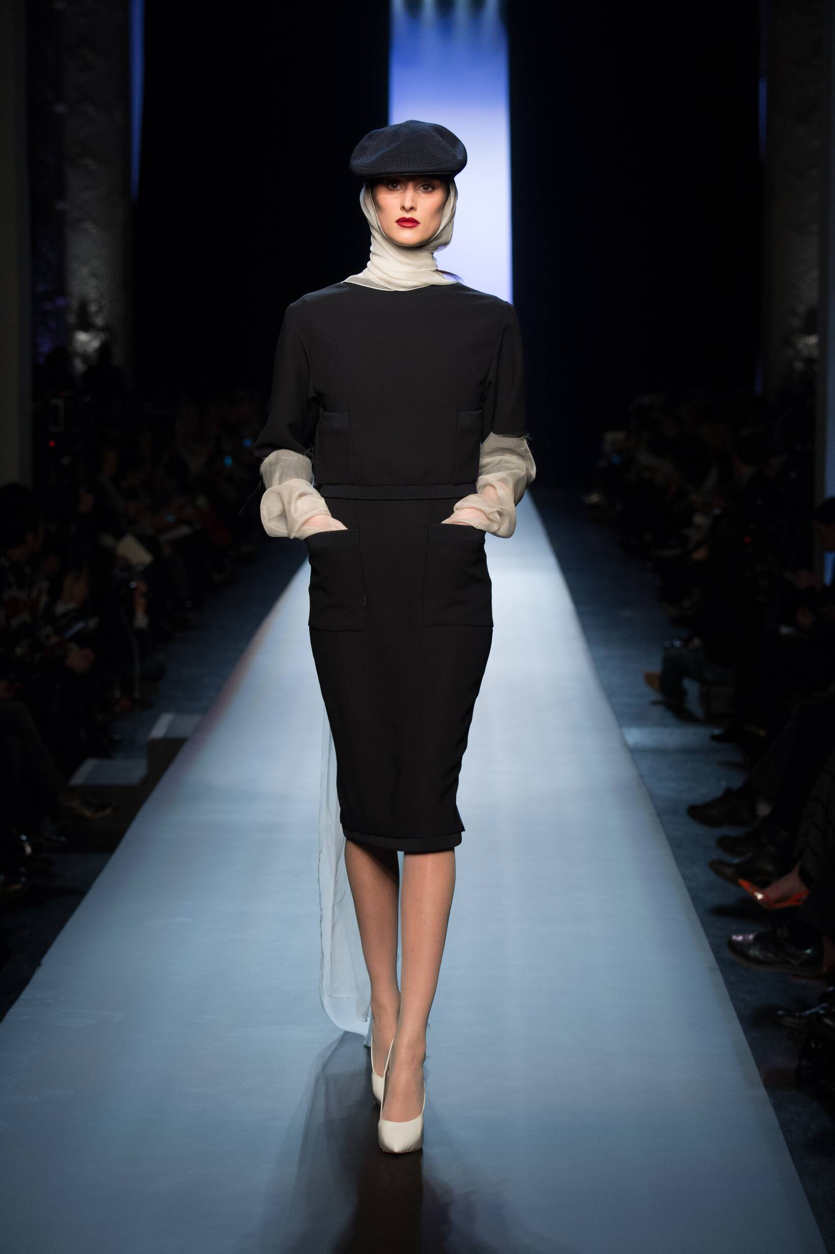 Fashion Woman Model Jean Paul Gaultier Haute Couture Collection Catwalk