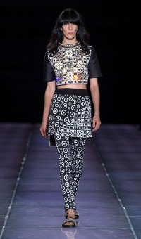 FAUSTO PUGLISI SPRING SUMMER 2015 WOMEN'S COLLECTION – MILANO FASHION WEEK