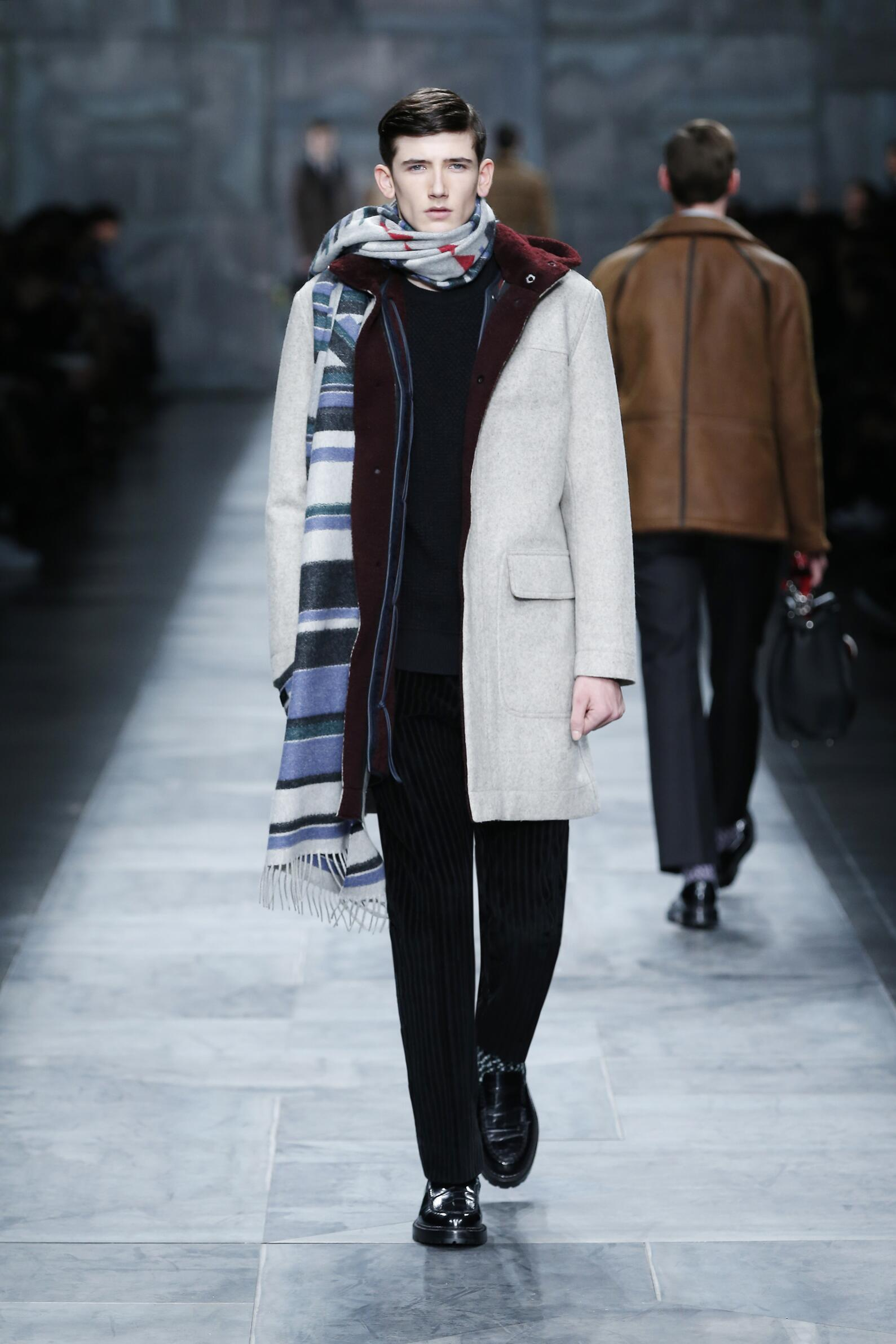 Fendi Fall Winter 2015 16 Men's Collection Milan Fashion Week Fashion Show