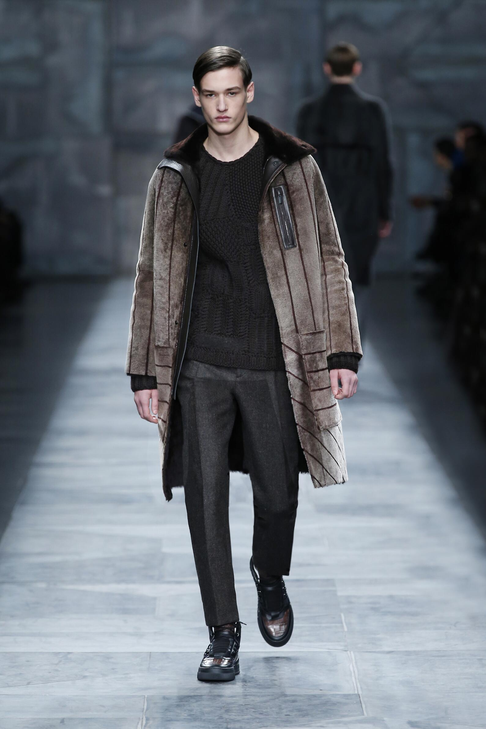 Fendi Fall Winter 2015 16 Mens Collection Milano Fashion Week