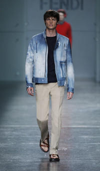 FENDI SPRING SUMMER 2015 MEN'S COLLECTION – MILANO FASHION WEEK