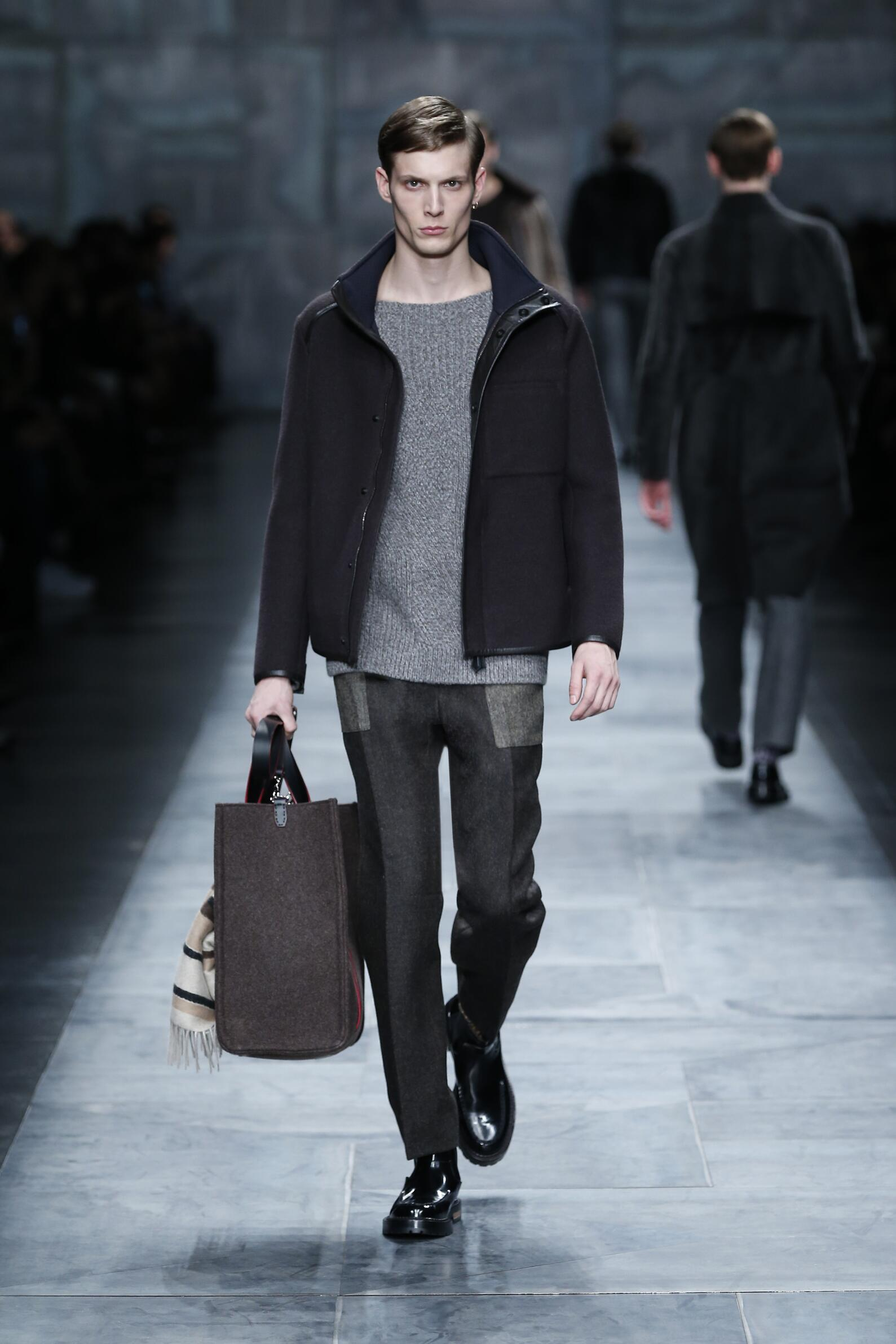Fendi Men's Collection 2015 2016