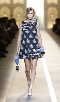 FENDI SPRING SUMMER 2015 WOMEN'S COLLECTION – MILANO FASHION WEEK