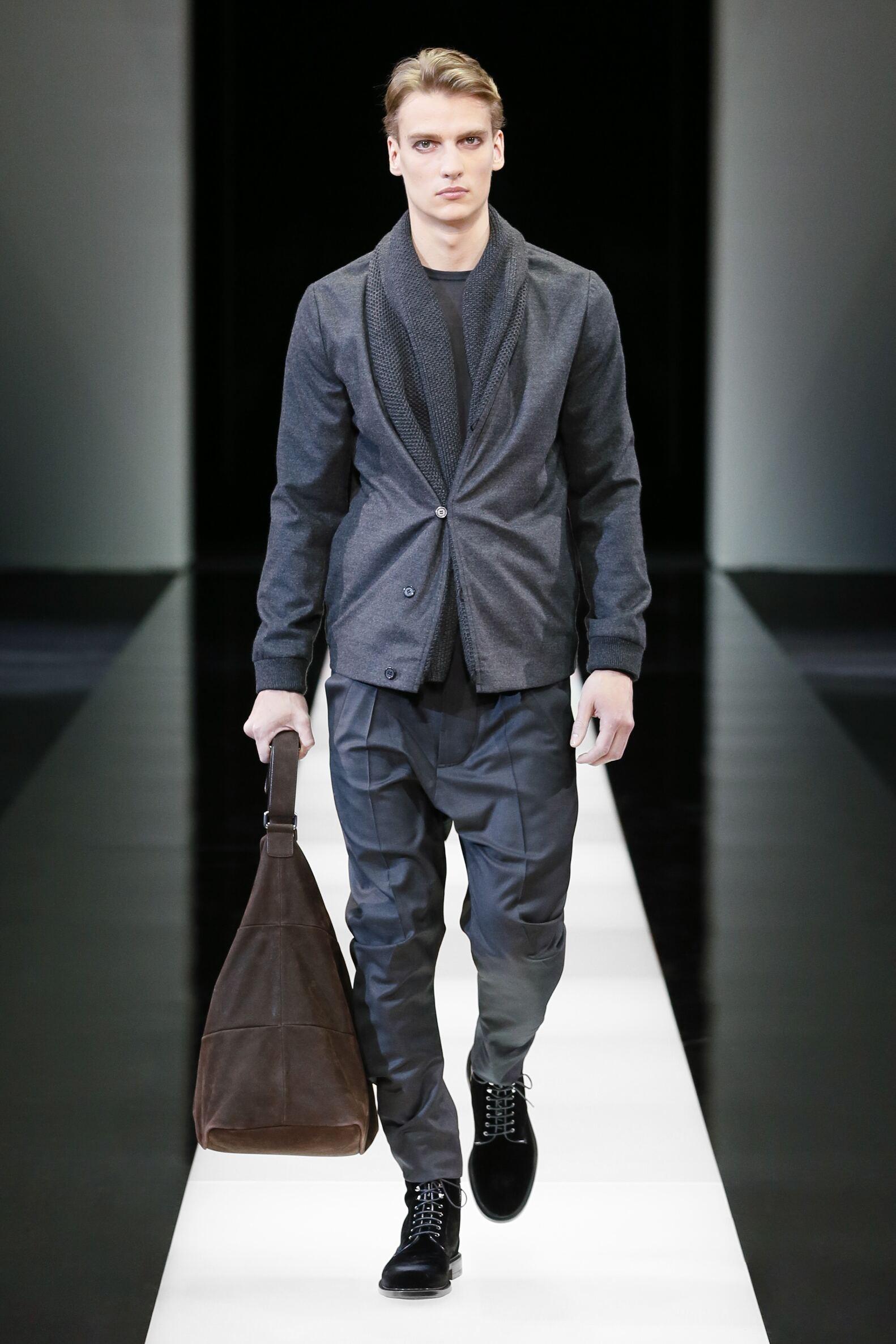 Giorgio Armani Collection Catwalk