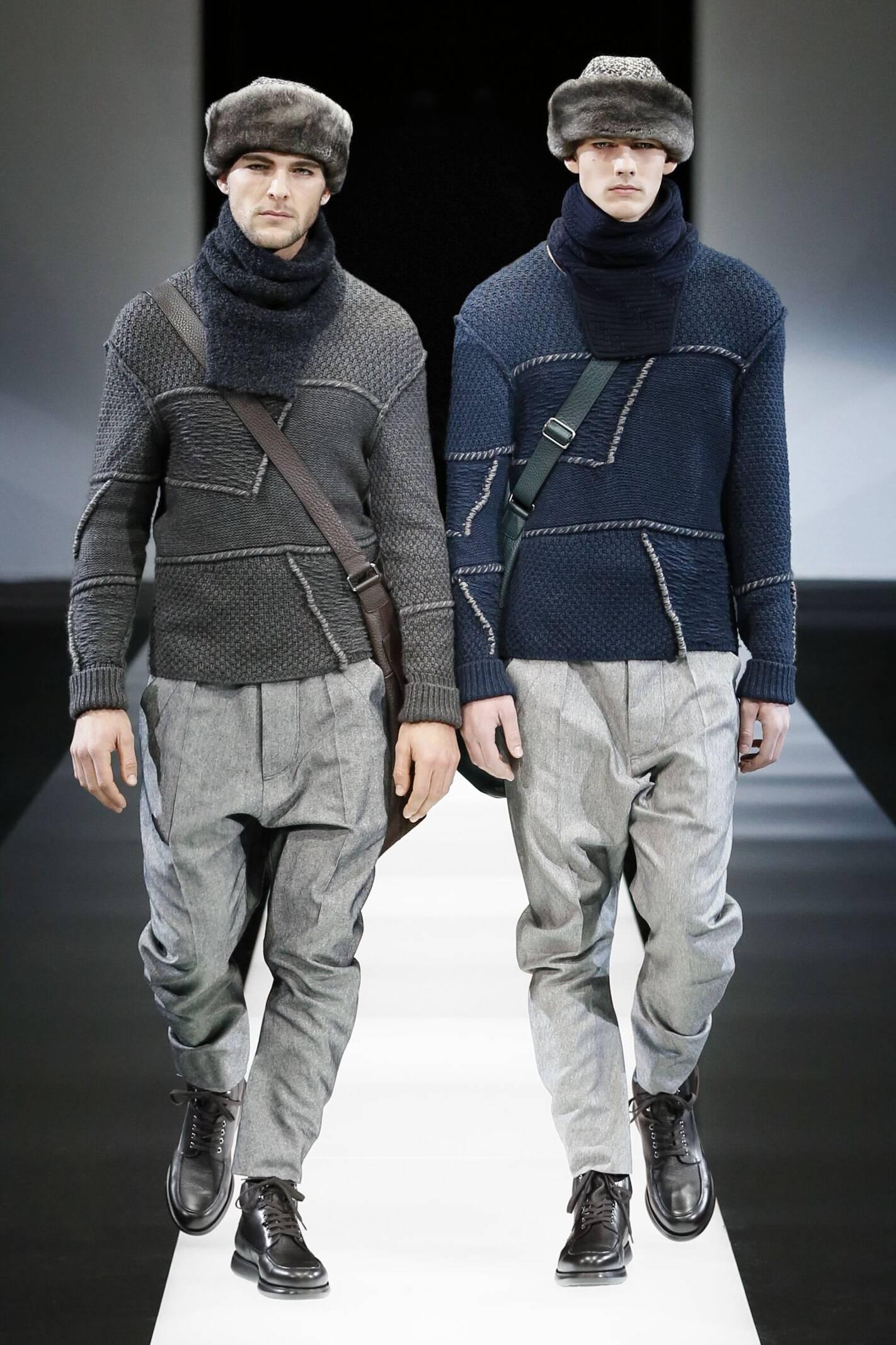 Giorgio Armani Collection Fashion Show FW 2015 2016