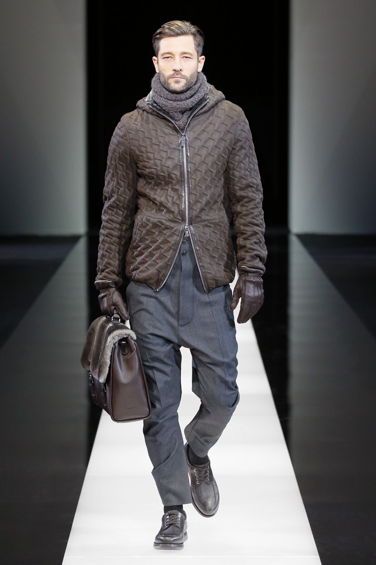 Giorgio Armani Collection Man Milano Fashion Week