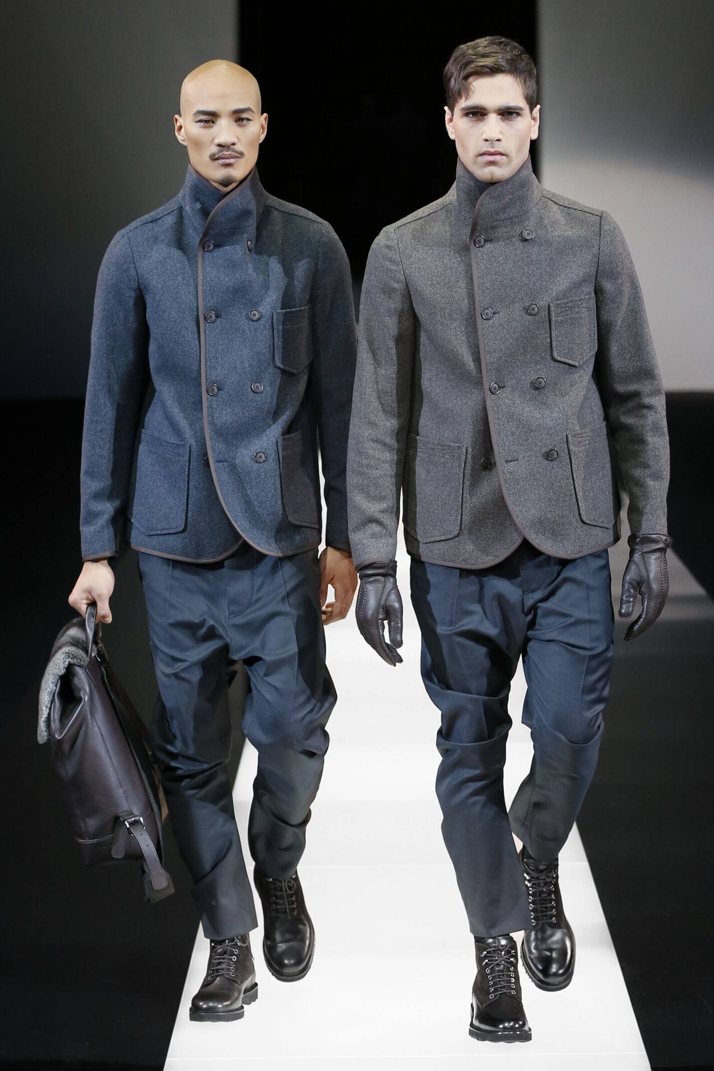 Giorgio Armani Collection Men Style
