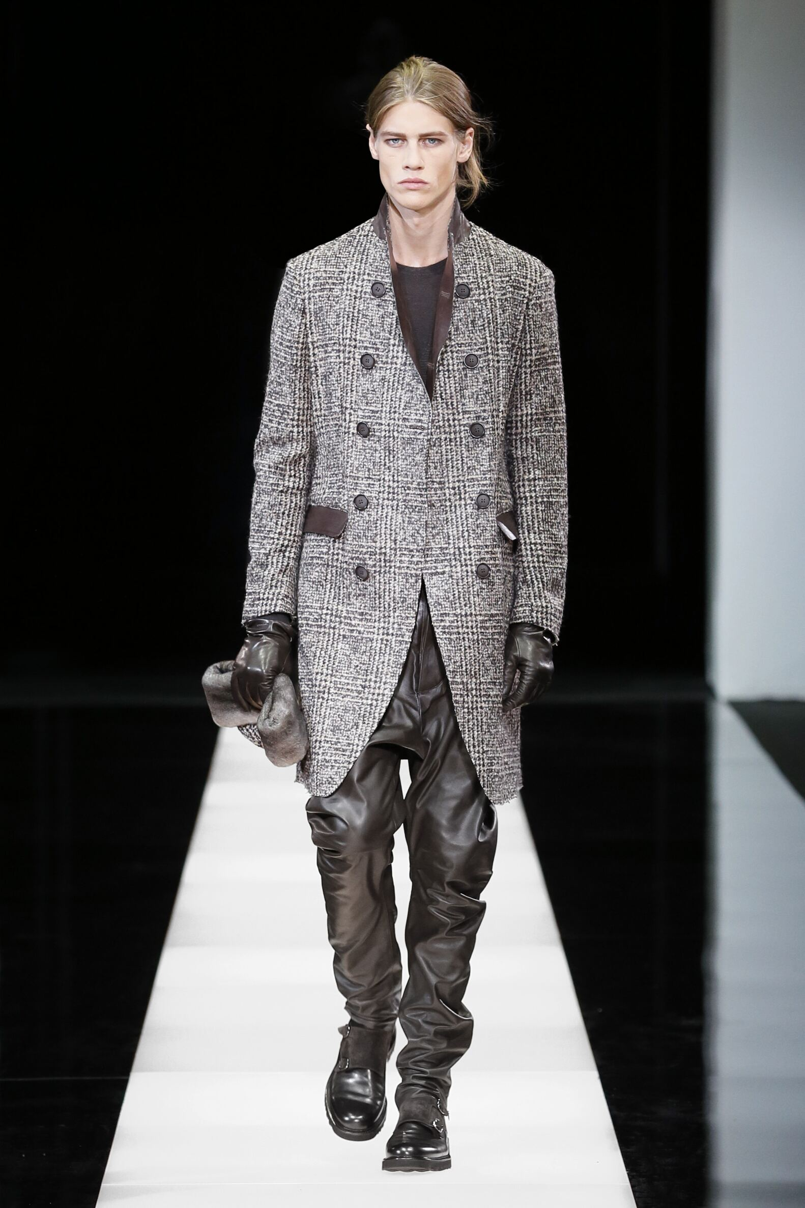 Giorgio Armani Collection Milano Fashion Week Menswear