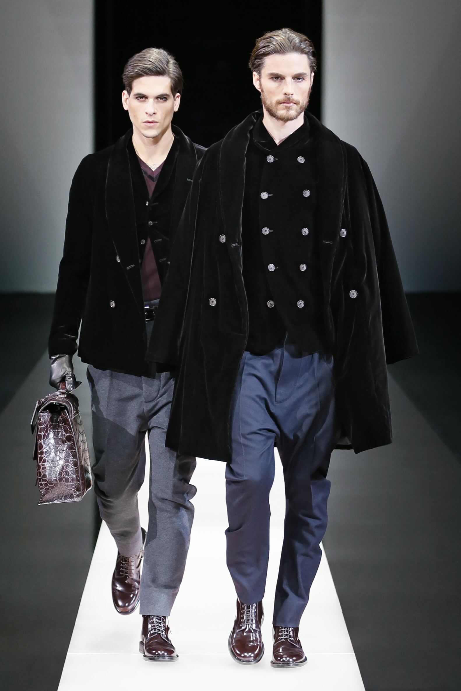 Giorgio Armani Fall Winter 2015 16 Mens Collection Milano Fashion Week