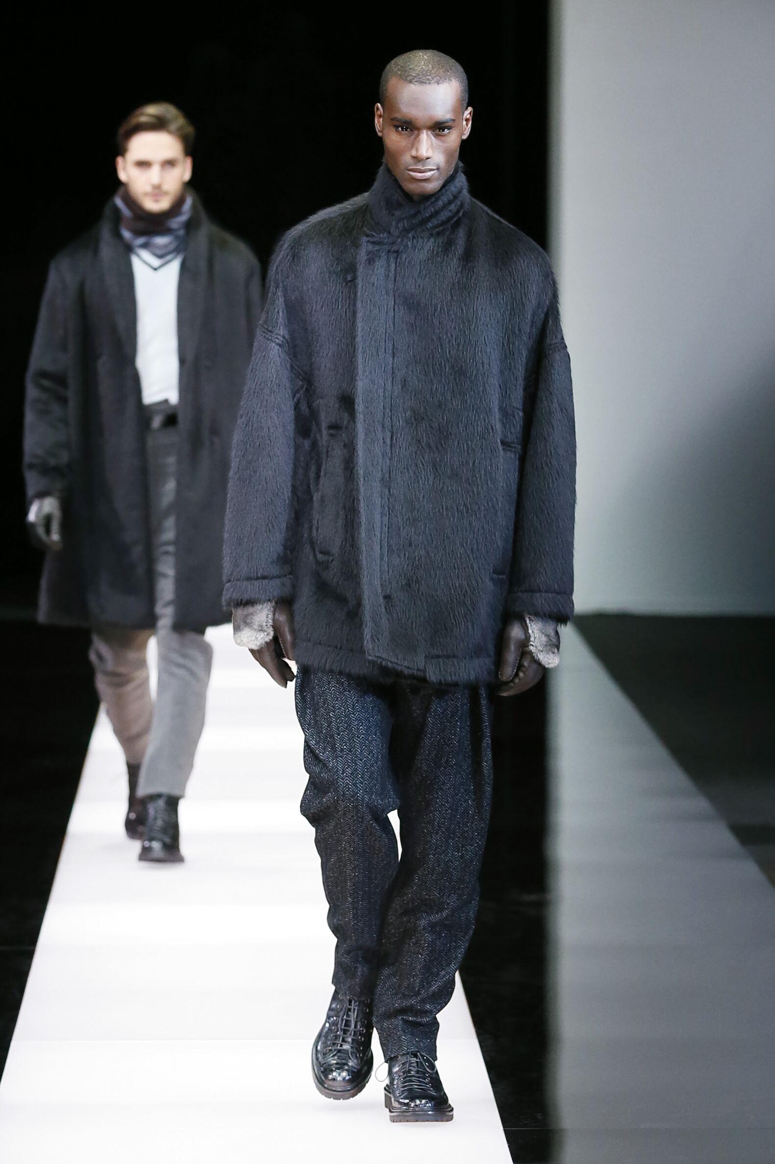 Giorgio Armani Fashion Show