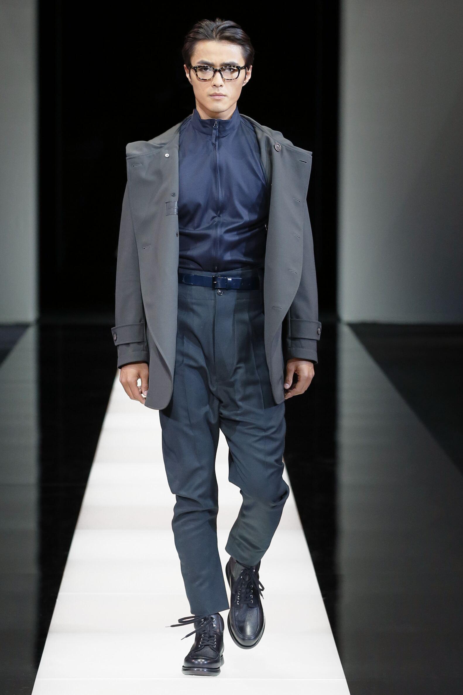 Giorgio Armani Runway