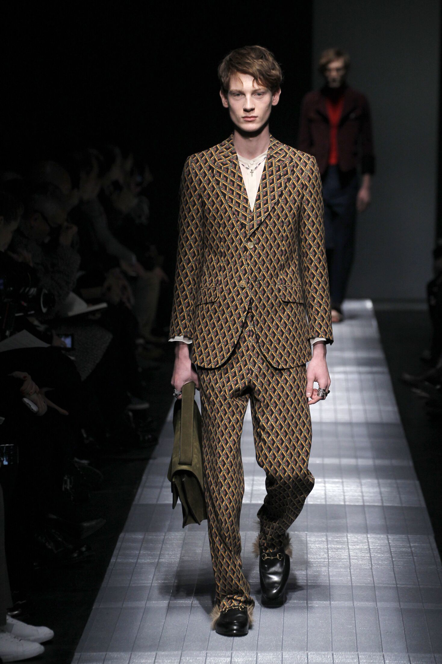 Gucci Fall Winter 2015 16 Men's Collection Milan Fashion Week Fashion Show