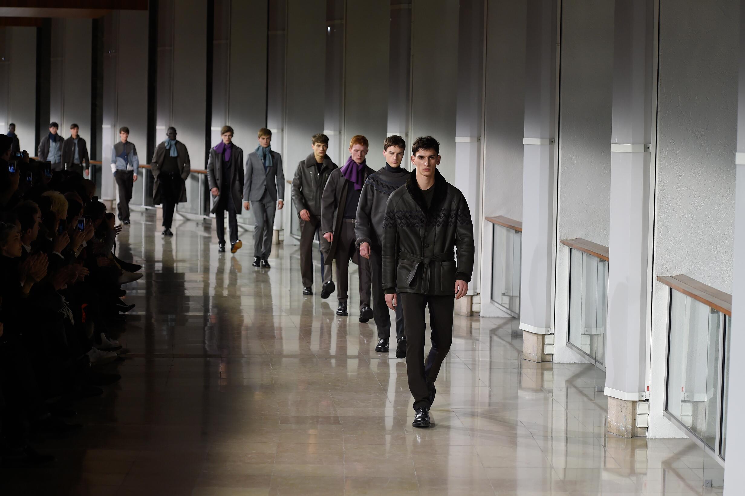 Hermès 2015 Catwalk Finale