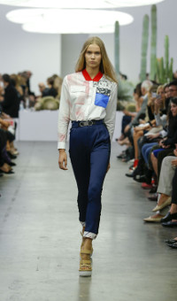 ICEBERG SPRING SUMMER 2015 WOMEN'S COLLECTION – MILANO FASHION WEEK