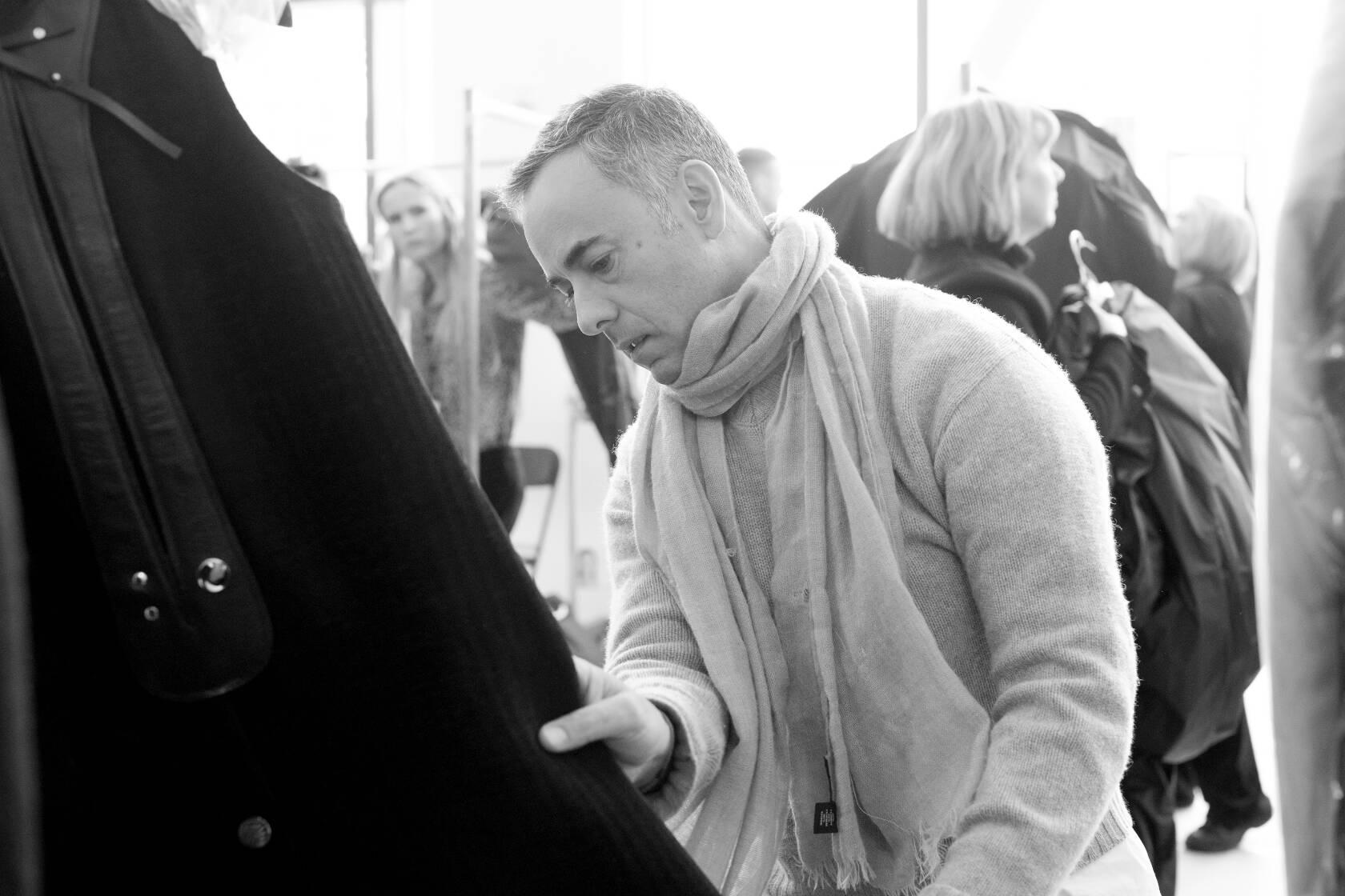 Italo Zucchelli Backstage Calvin Klein