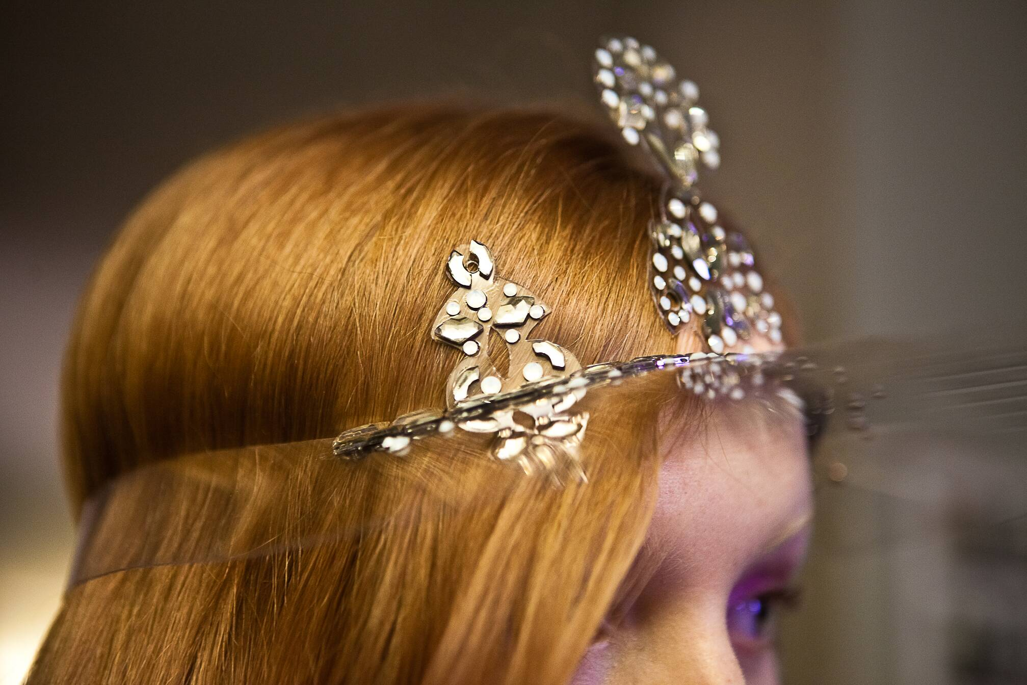 Jean Paul Gaultier Haute Couture Backstage Detail