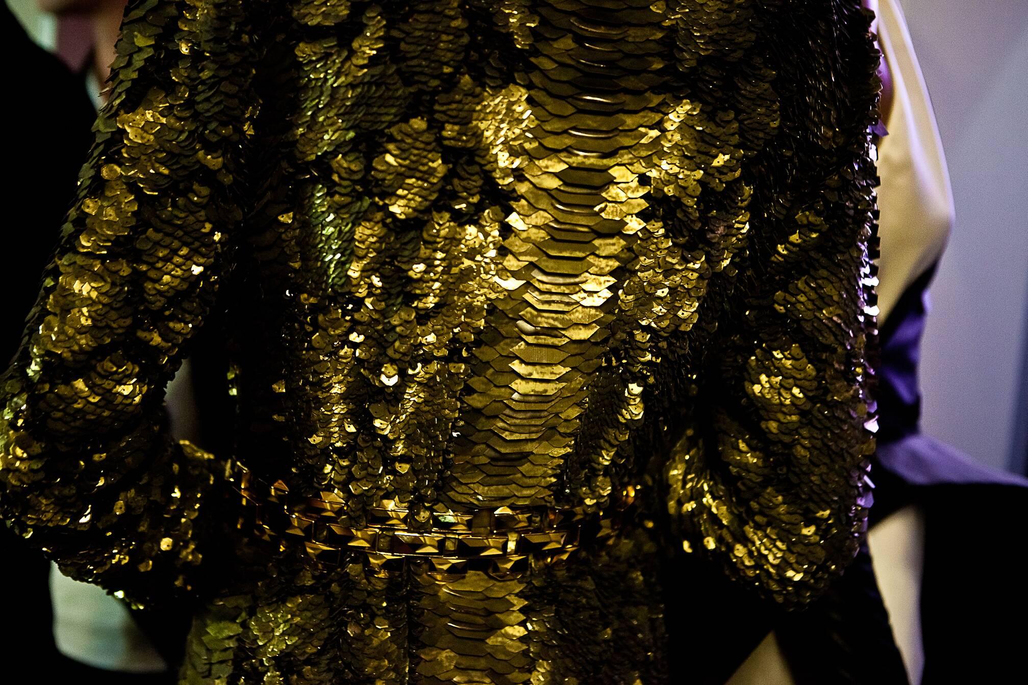 Jean Paul Gaultier Haute Couture Backstage Paris Detail