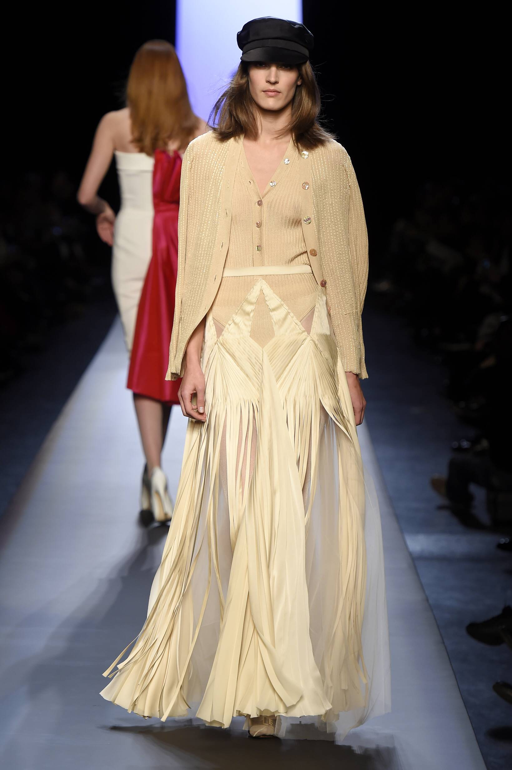 Jean Paul Gaultier Haute Couture Collection Spring 2015 Catwalk