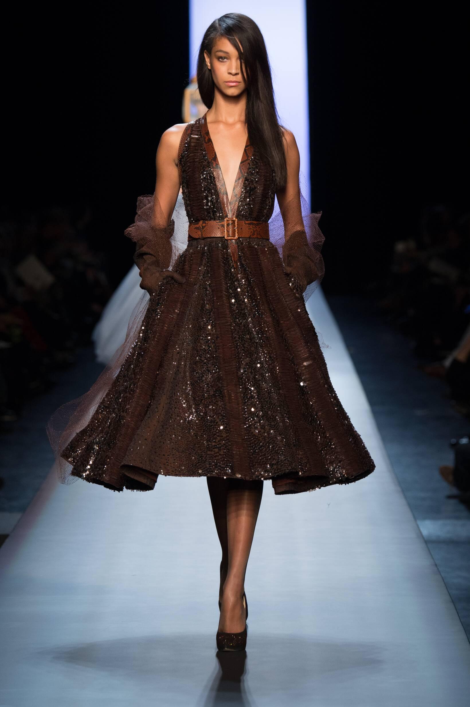 Jean Paul Gaultier Haute Couture Collection Summer 2015 Catwalk