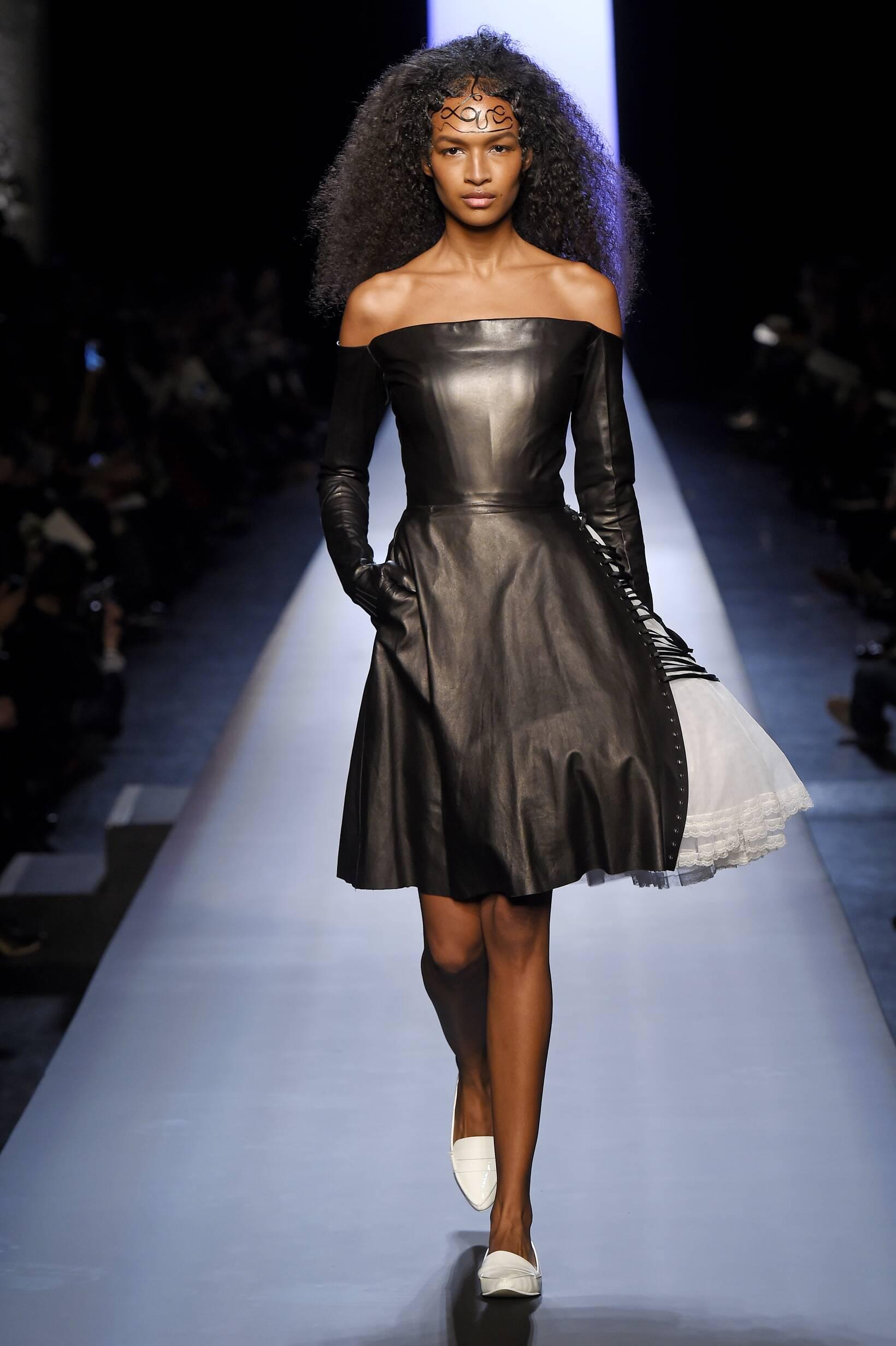 Jean Paul Gaultier Haute Couture Collection Woman Paris Fashion Week