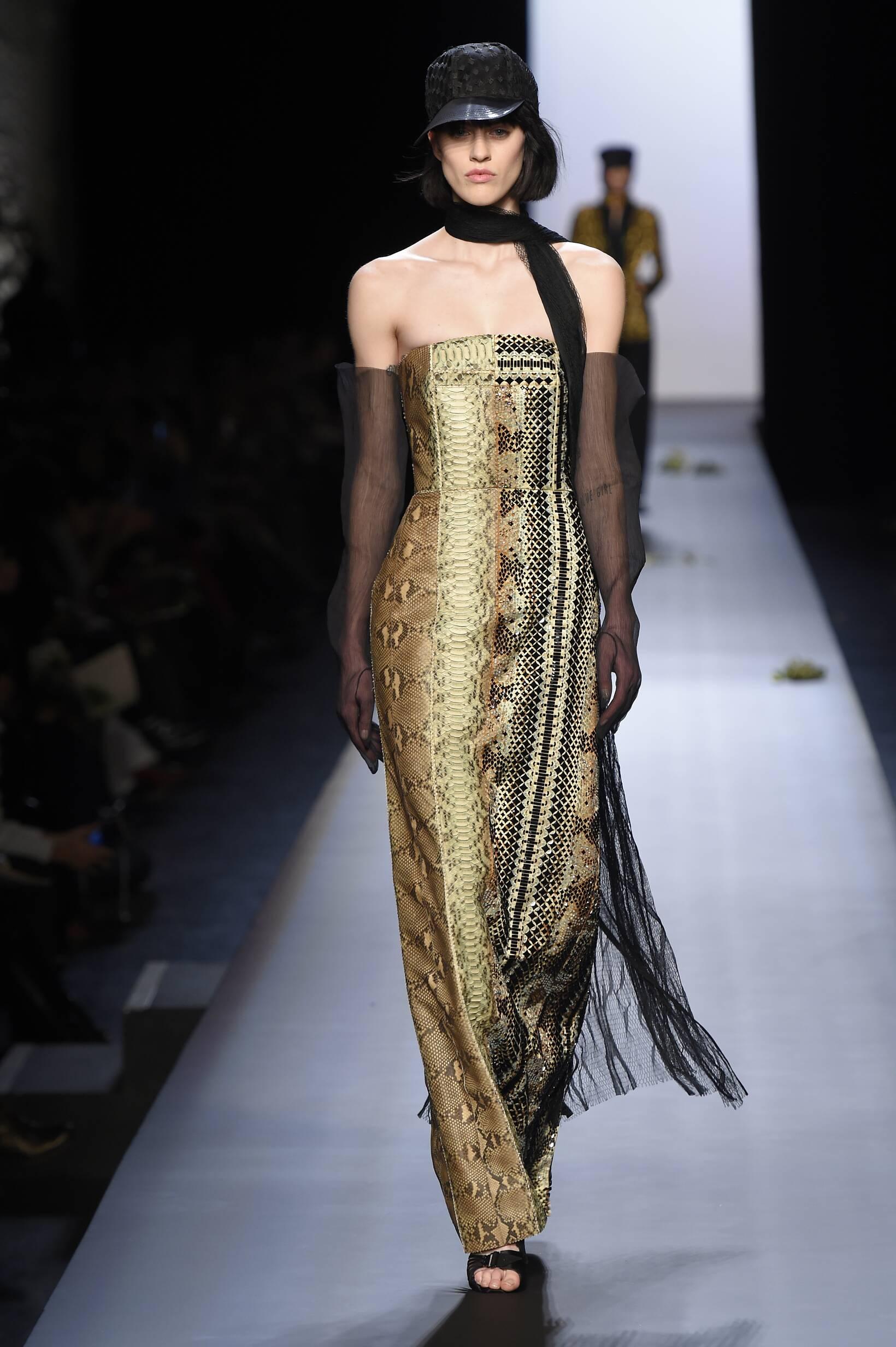 Jean Paul Gaultier Haute Couture Collection Women's SS 2015 Fashion Show