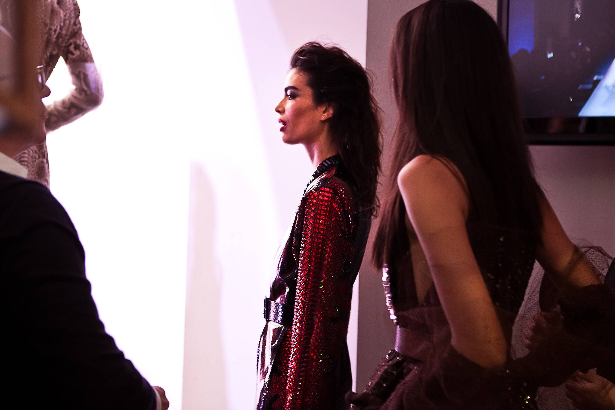 Jean Paul Gaultier Haute Couture SS 2015 Womenswear Backstage