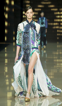 JUST CAVALLI SPRING SUMMER 2015 WOMEN'S COLLECTION – MILANO FASHION WEEK