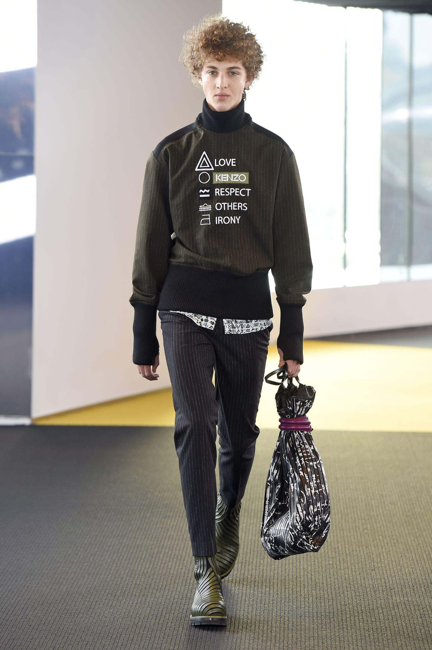 Kenzo Collection Paris Fashion Week Menswear