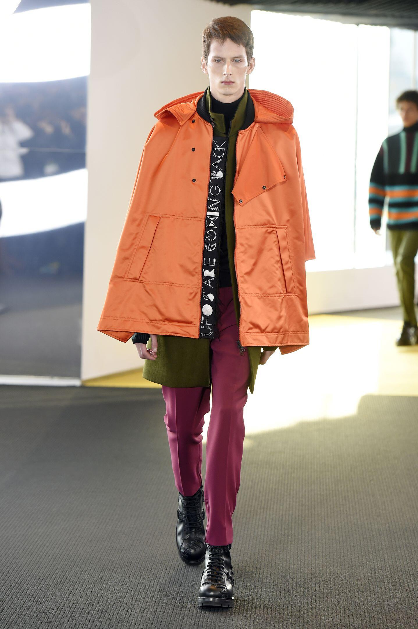 Kenzo Collection Winter 2015 Catwalk