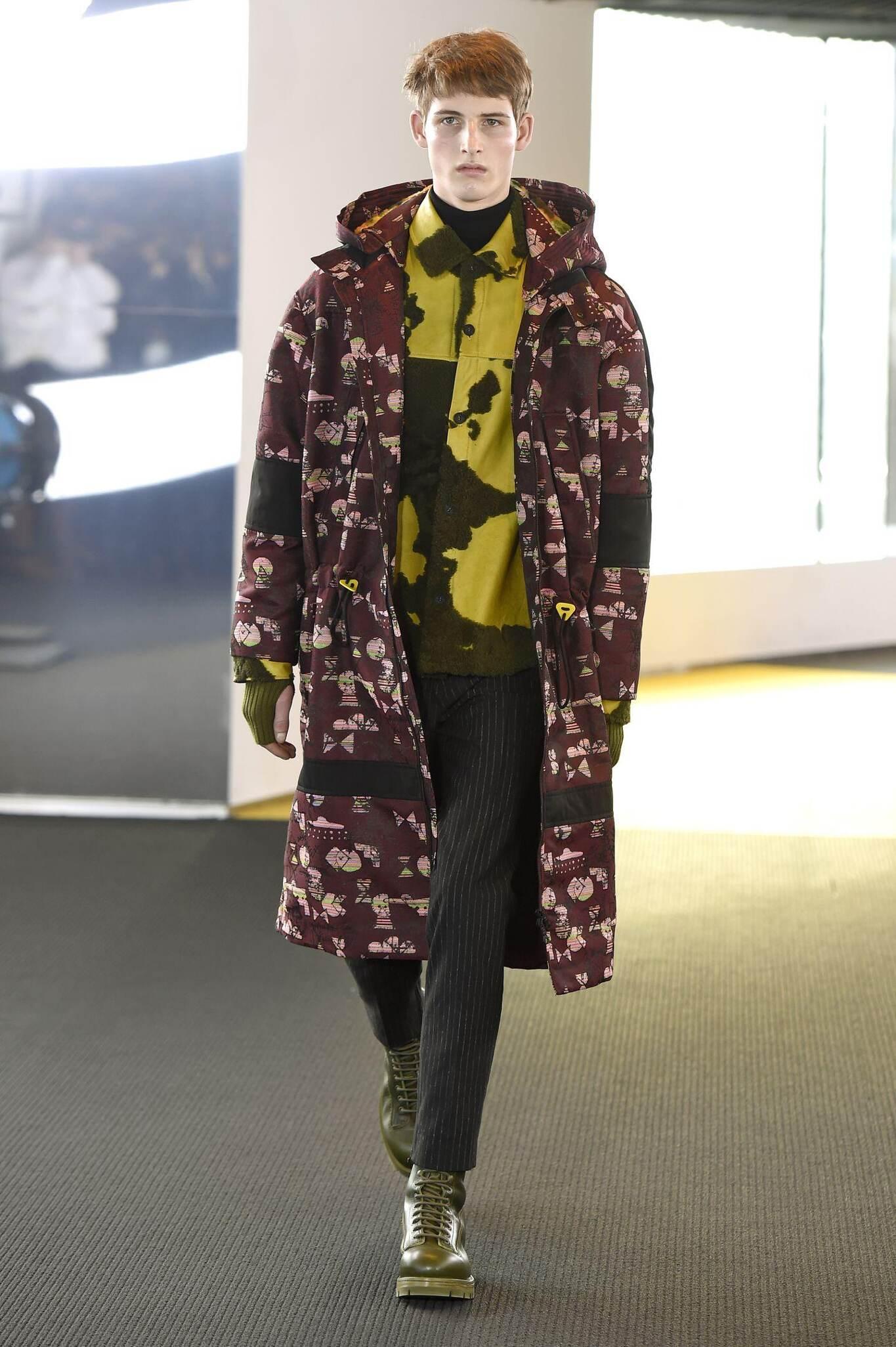 Kenzo Fall Winter 2015 16 Men's Collection Paris Fashion Week Fashion Show