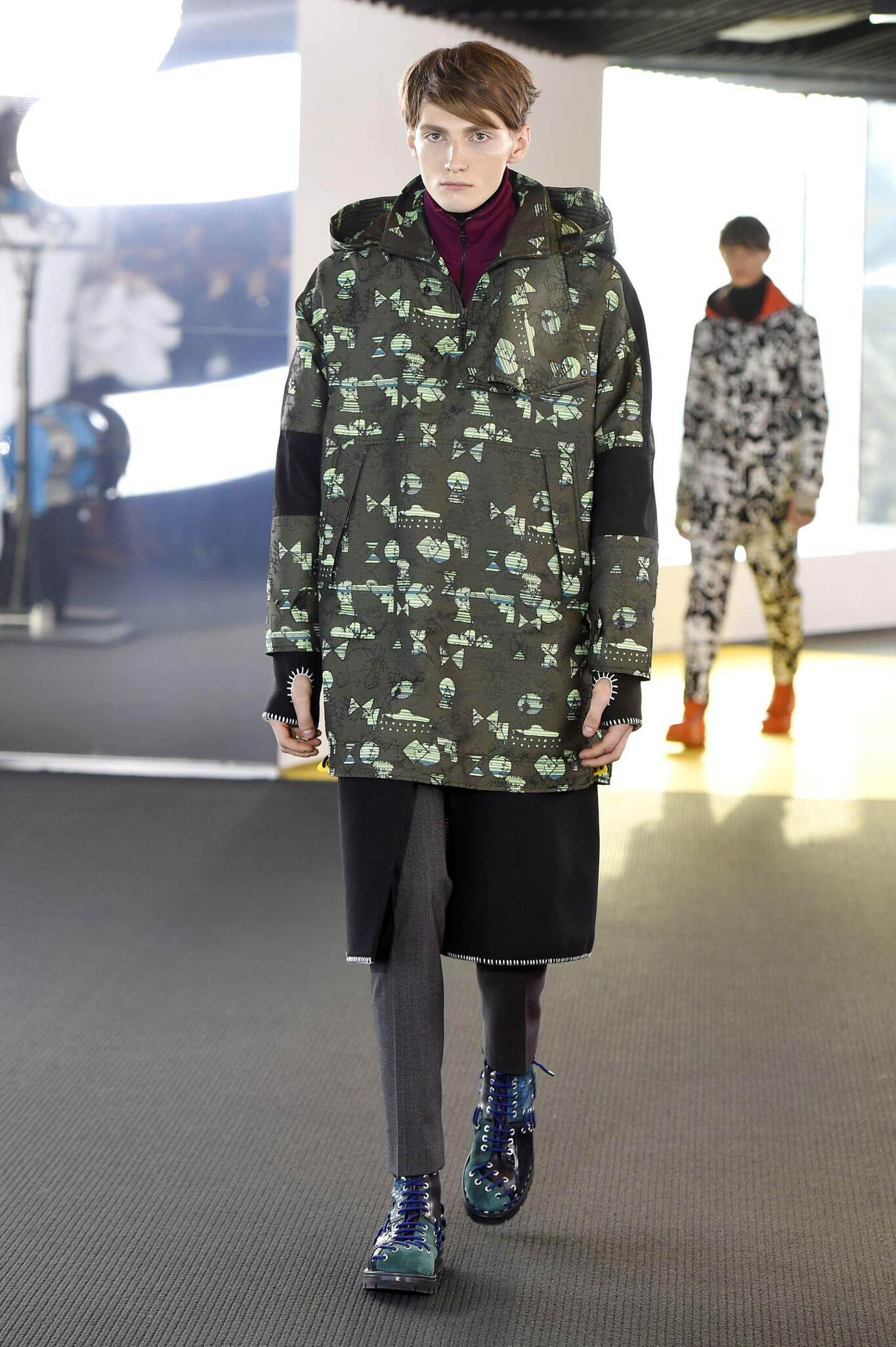 Kenzo Fall Winter 2015 16 Mens Collection Paris Fashion Week