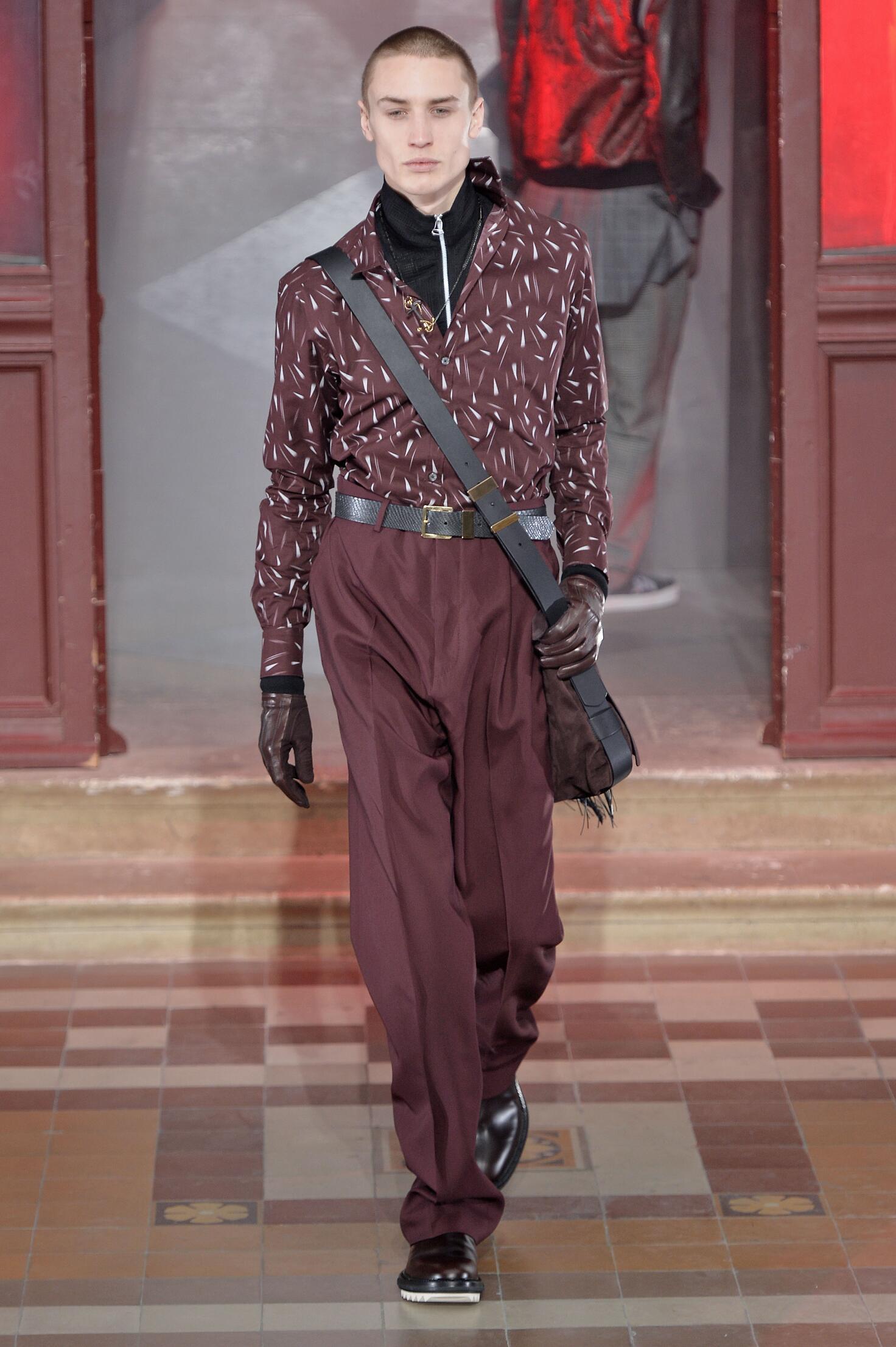 Lanvin Collection Man Paris Fashion Week