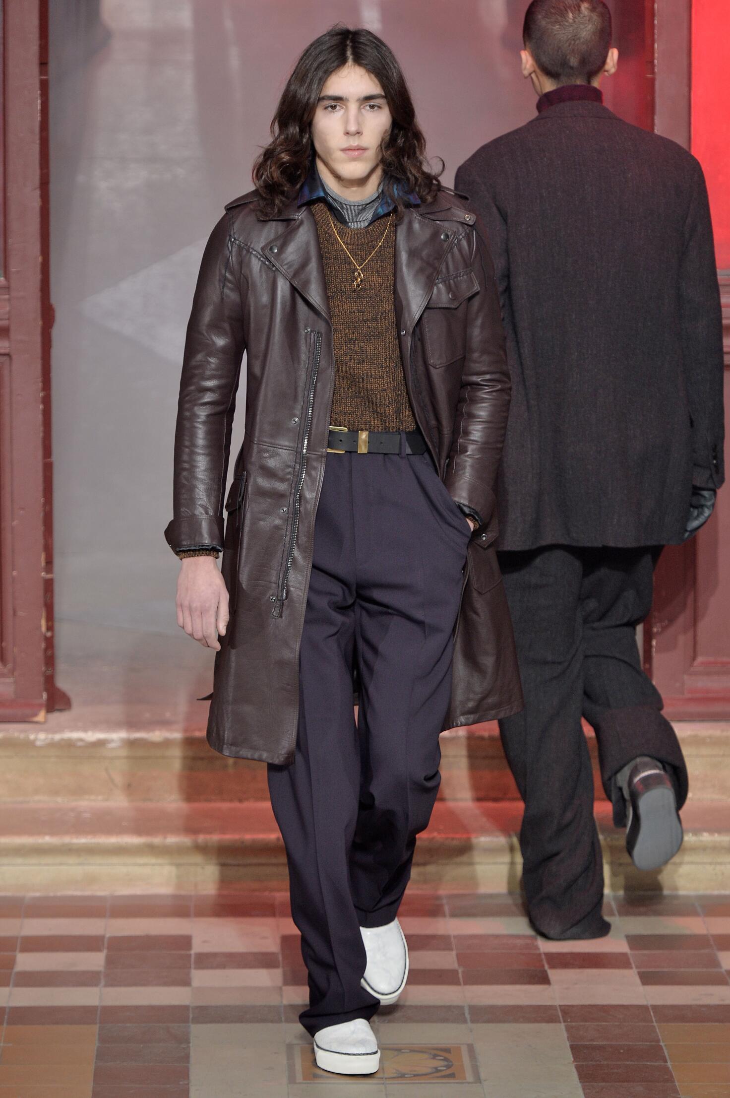 Lanvin Collection Paris Fashion Week Menswear